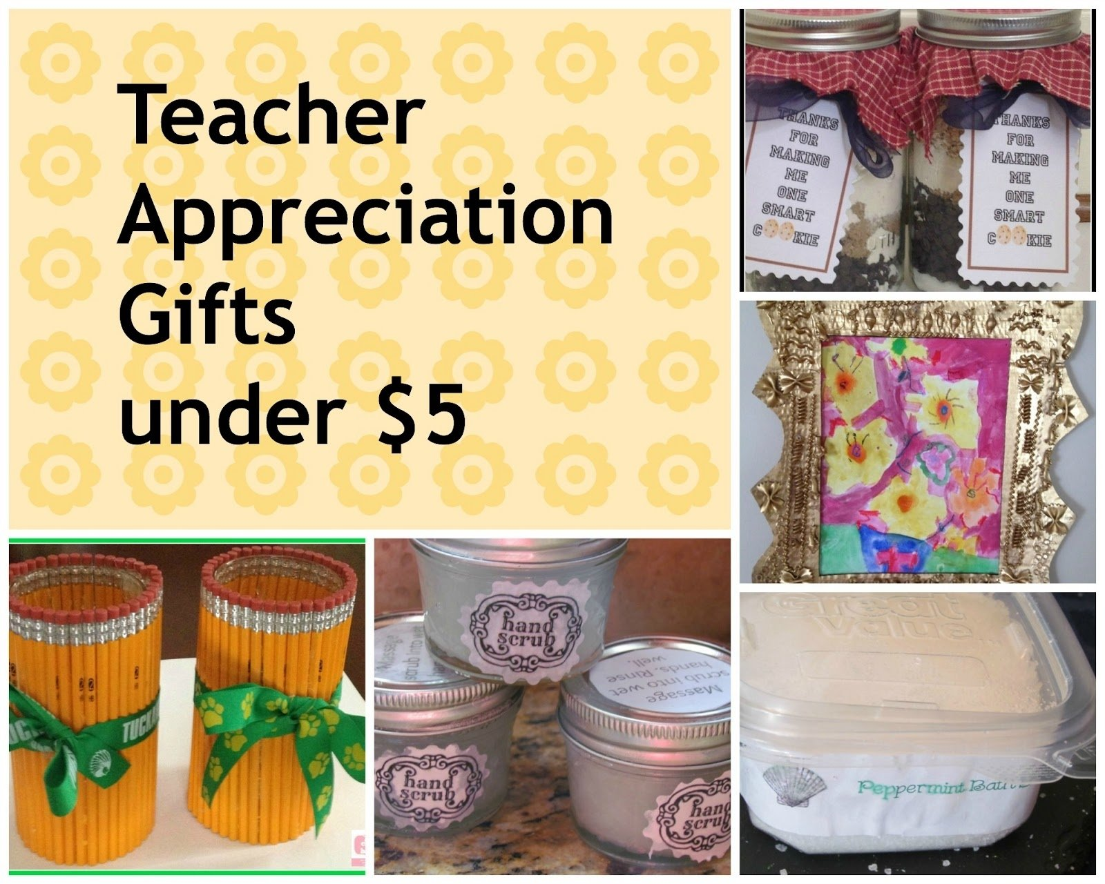 and handmade teacher apreciation gifts