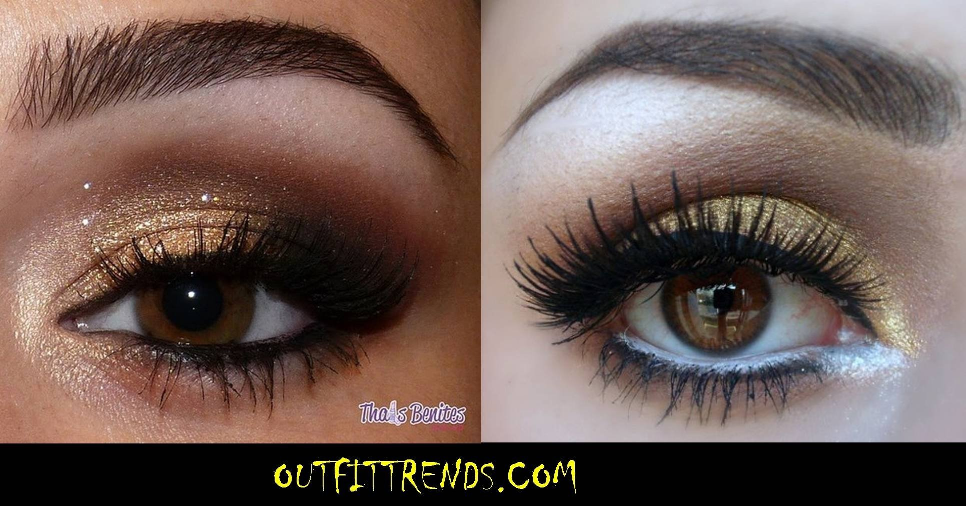10 Awesome Cute Makeup Ideas For Brown Eyes and stylish eye makeup ideas for brown eyes 2 2020