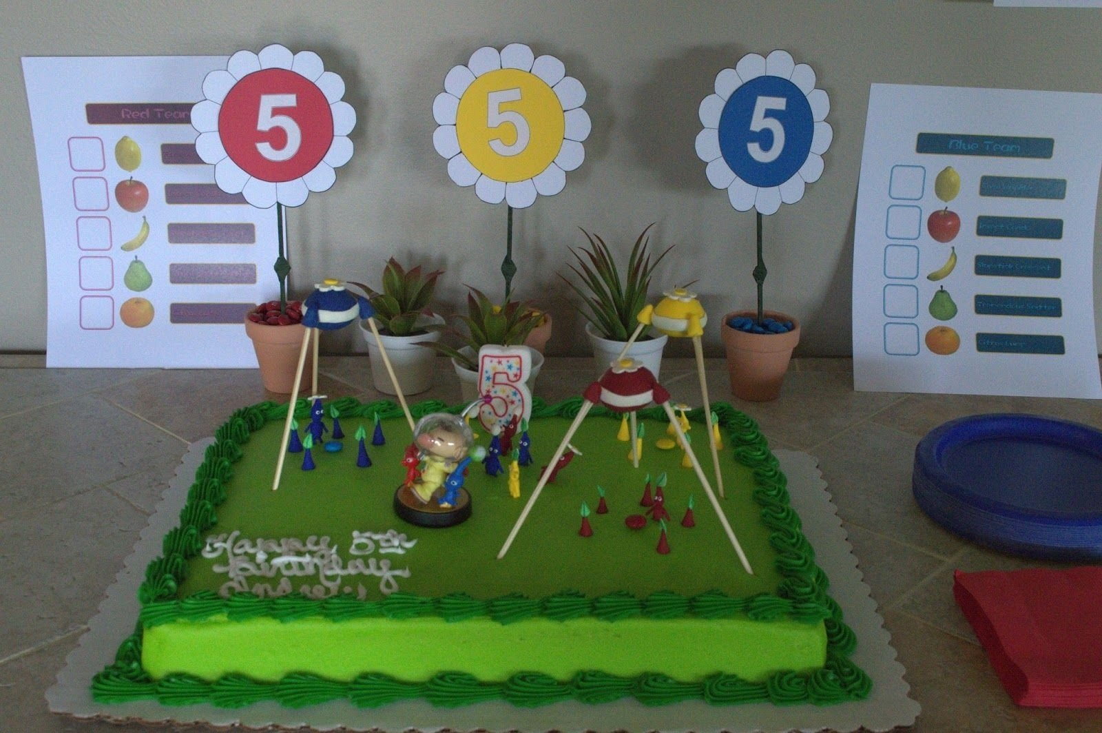 10 Stylish Birthday Party Ideas St. Louis andrews pikmin birthday party the caldwell family of st louis
