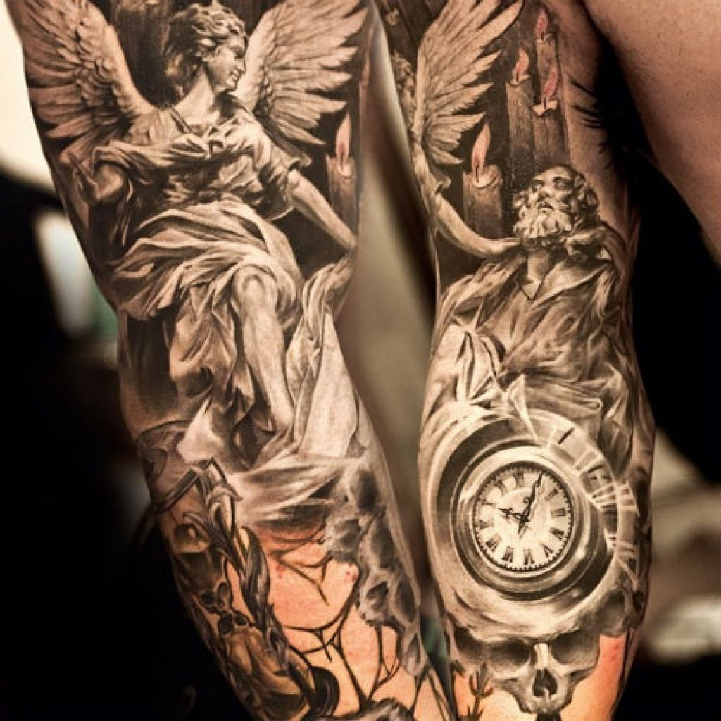 10 Unique Forearm Tattoos Ideas For Men angel tattoo on forearm forearm tattoos ideas for men archives 2020