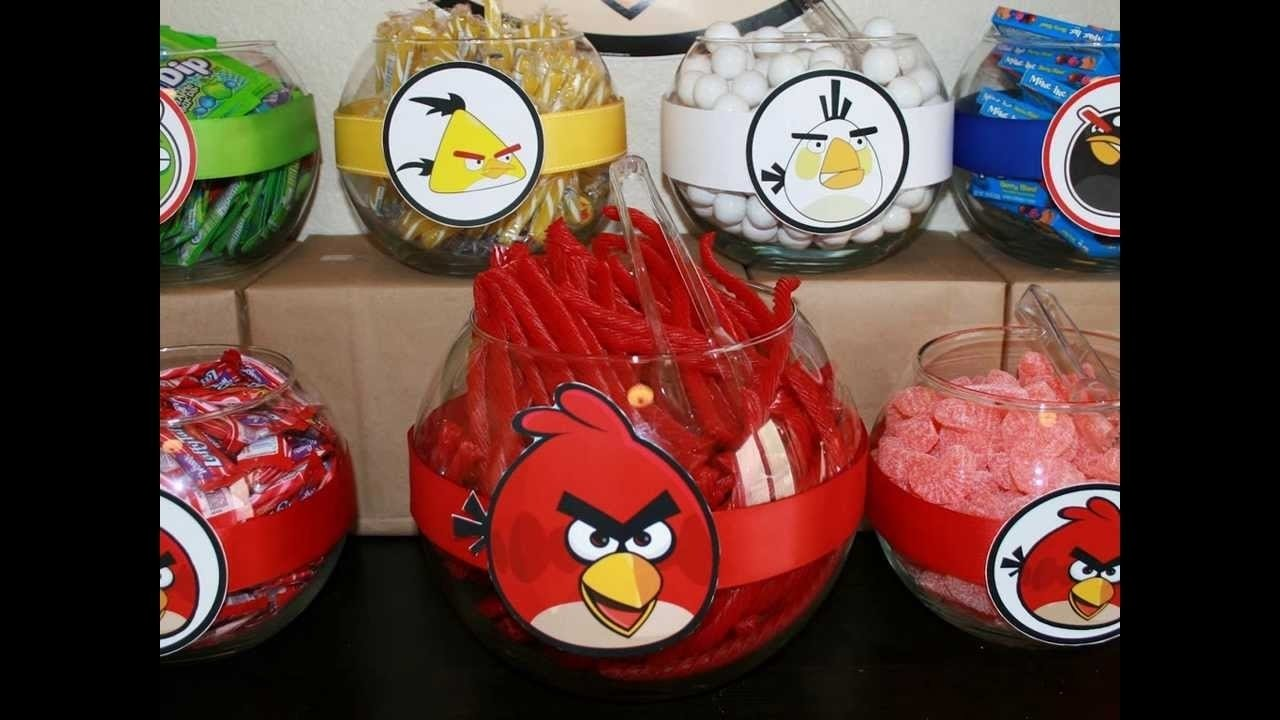 10 Famous Angry Bird Birthday Party Ideas angry birds birthday party ideas angry birds birthday party 1 2020
