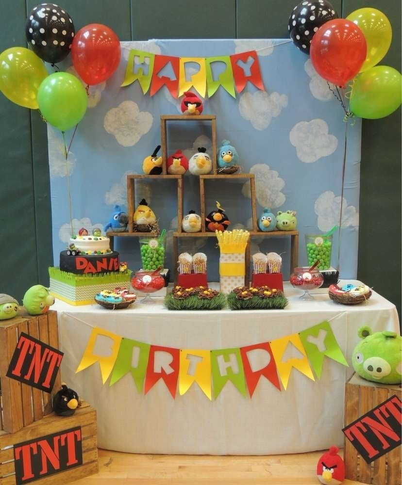 10 Famous Angry Bird Birthday Party Ideas angry birds birthday party ideas bird birthday parties angry 2020
