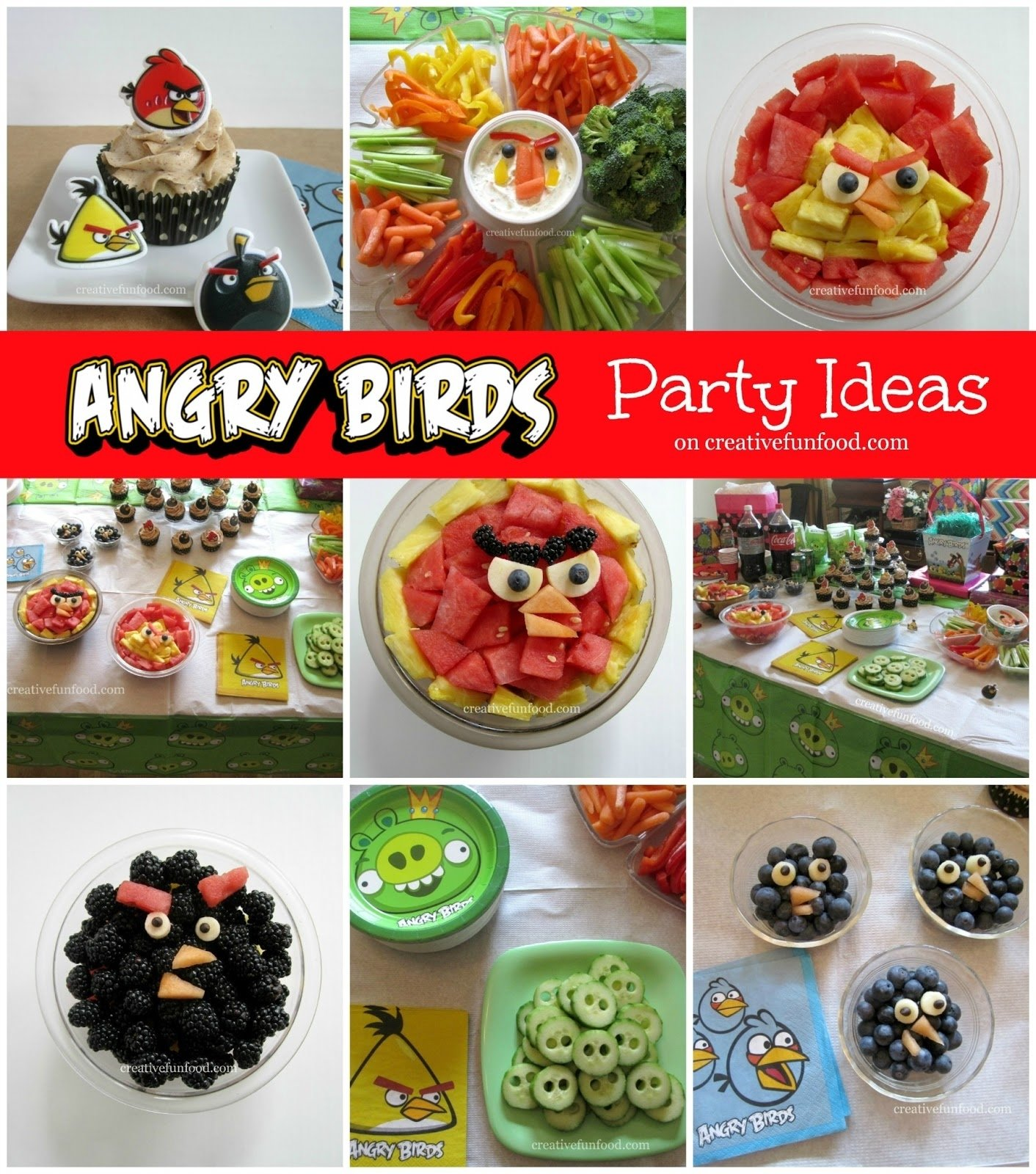 10 Famous Angry Bird Birthday Party Ideas angry birds birthday party ideas creative food 2 2020