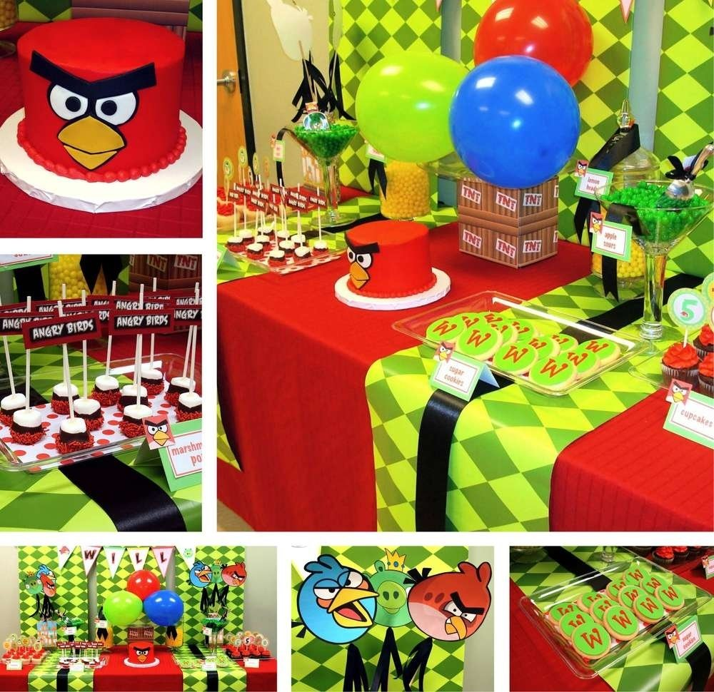 10 Famous Angry Bird Birthday Party Ideas angry birds birthday party ideas photo 10 of 10 catch my party 1 2020