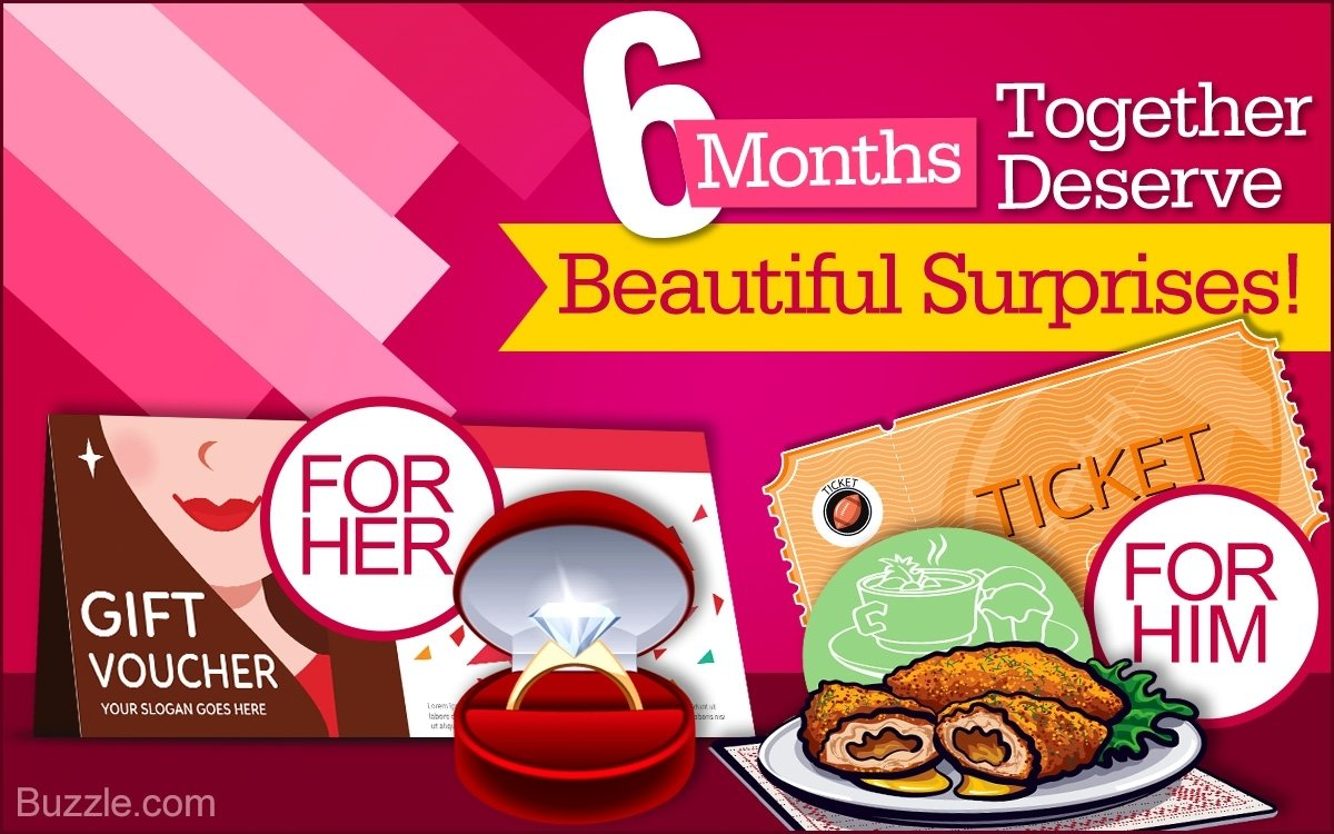 10 Lovely 6 Month Anniversary Gift Ideas For Her anniversary gift ideas to celebrate 6 months of togetherness 2020