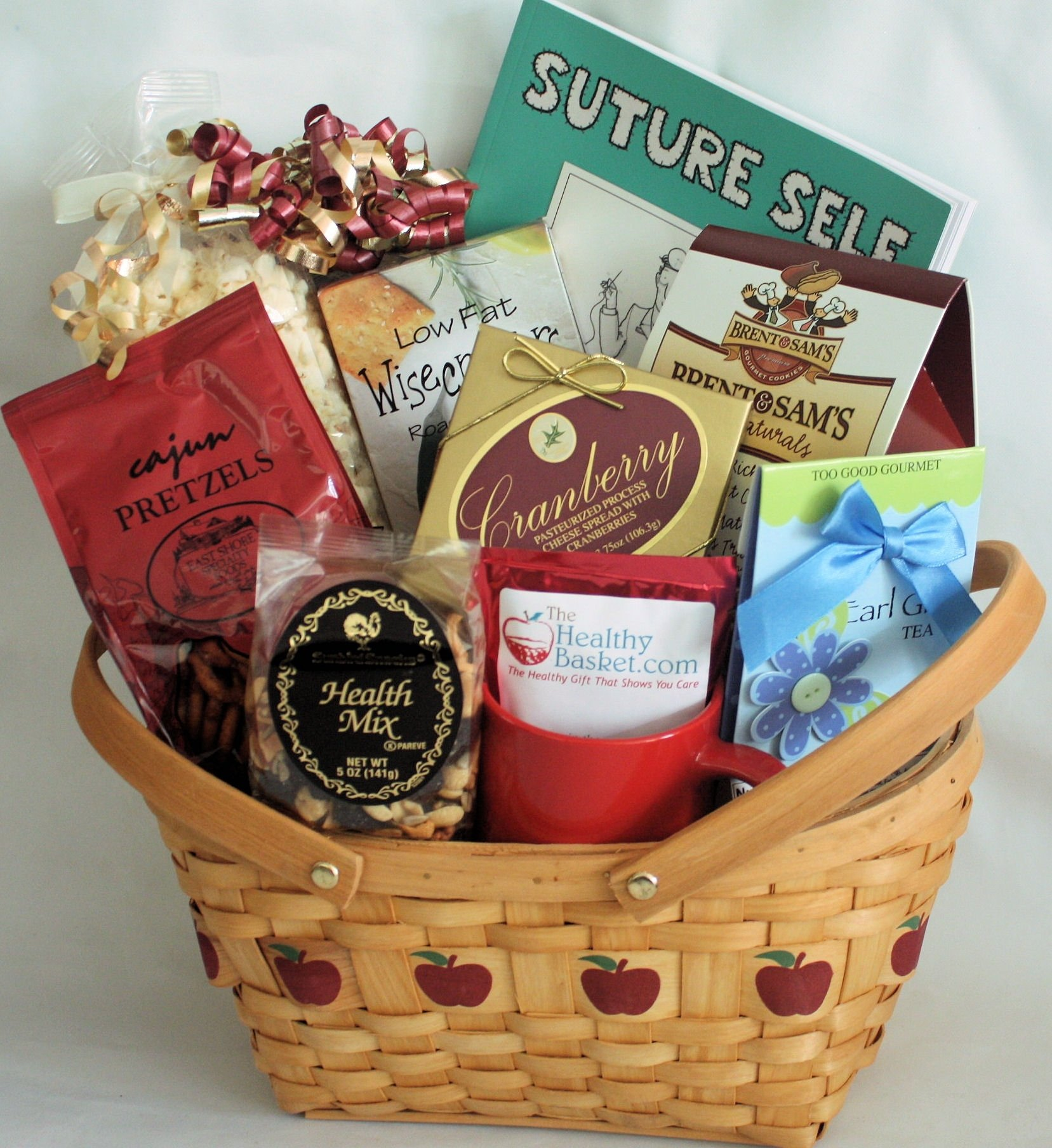 10 Fabulous Get Well Gift Ideas For Men apple a day get well the healthy basket 2020