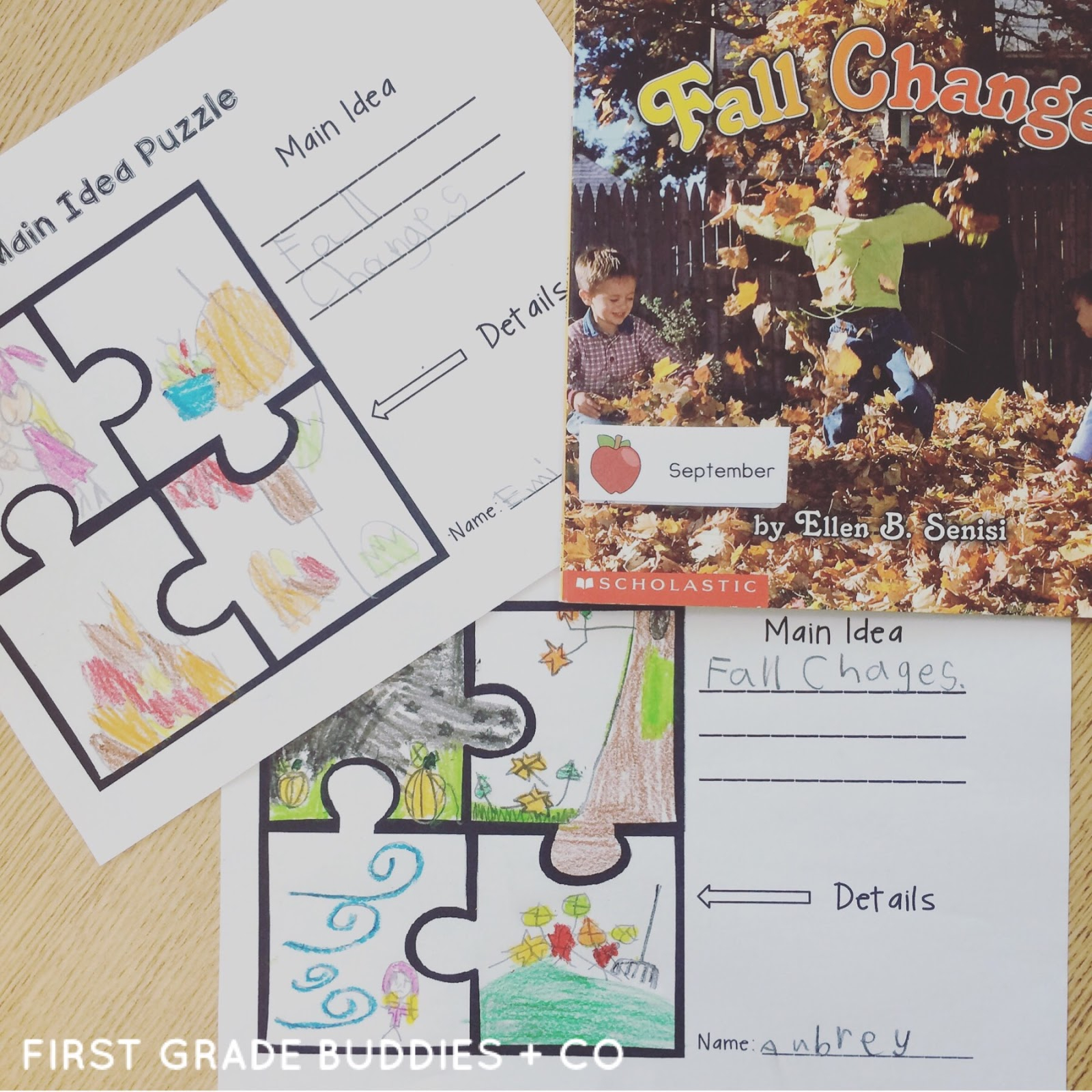 10 Most Popular Main Idea And Details First Grade apples and fall first grade buddies 2020