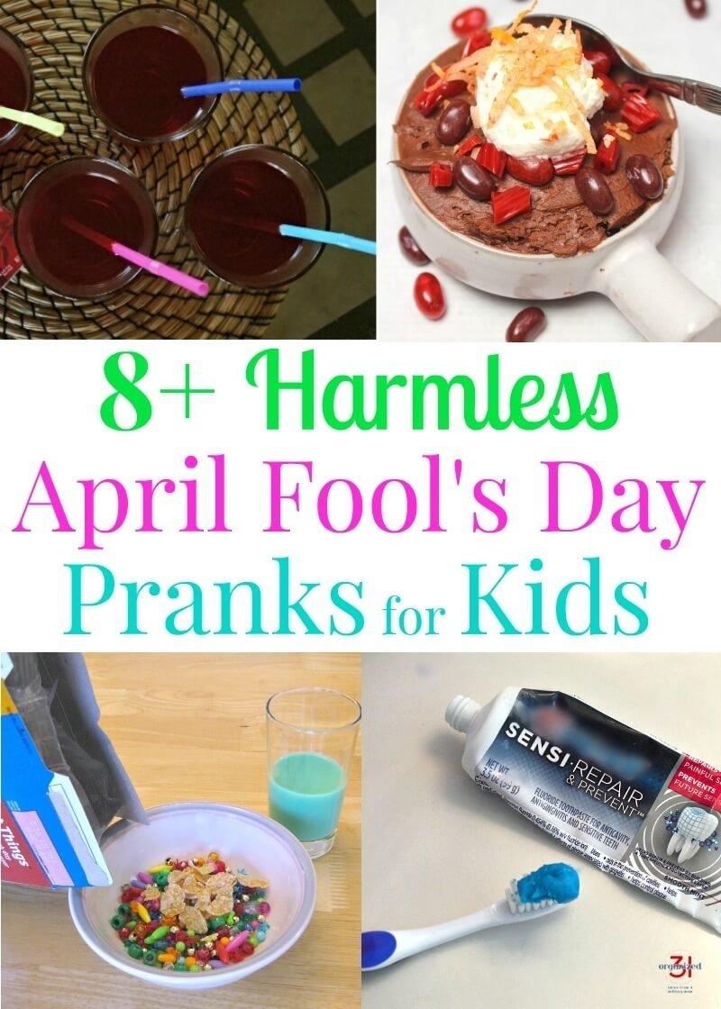 10 Wonderful April Fools Ideas For Kids april fools day pranks for kids v 2020