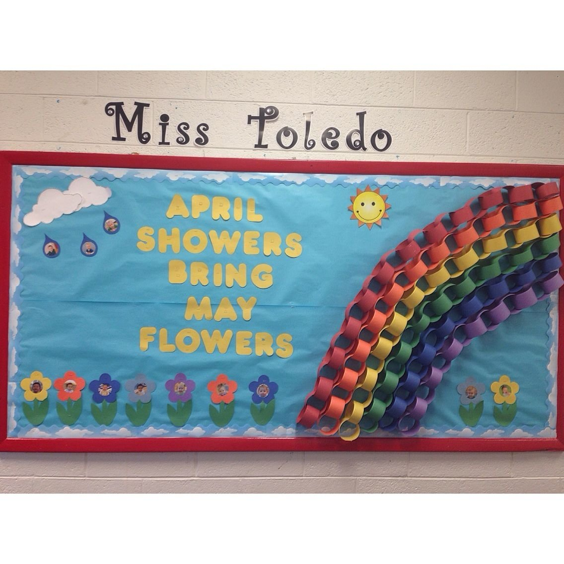 april showers bring may flowers bulletin board. april 2015. | my