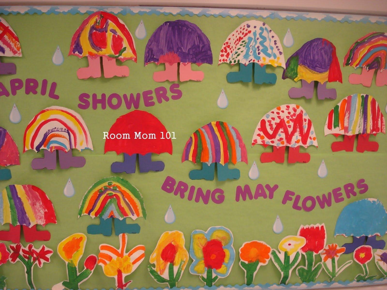 10 Attractive April Showers Bulletin Board Ideas april showers bring may flowers classroom bulletin board idea supplyme 2021
