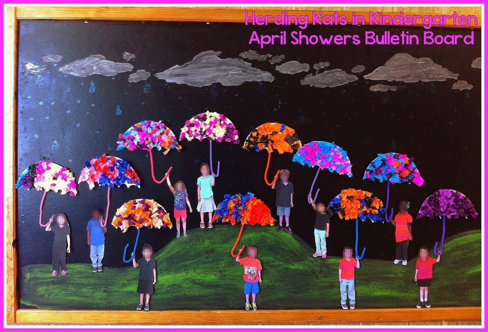 10 Attractive April Showers Bulletin Board Ideas april showers bulletin board kindergartenklub pinterest 2021