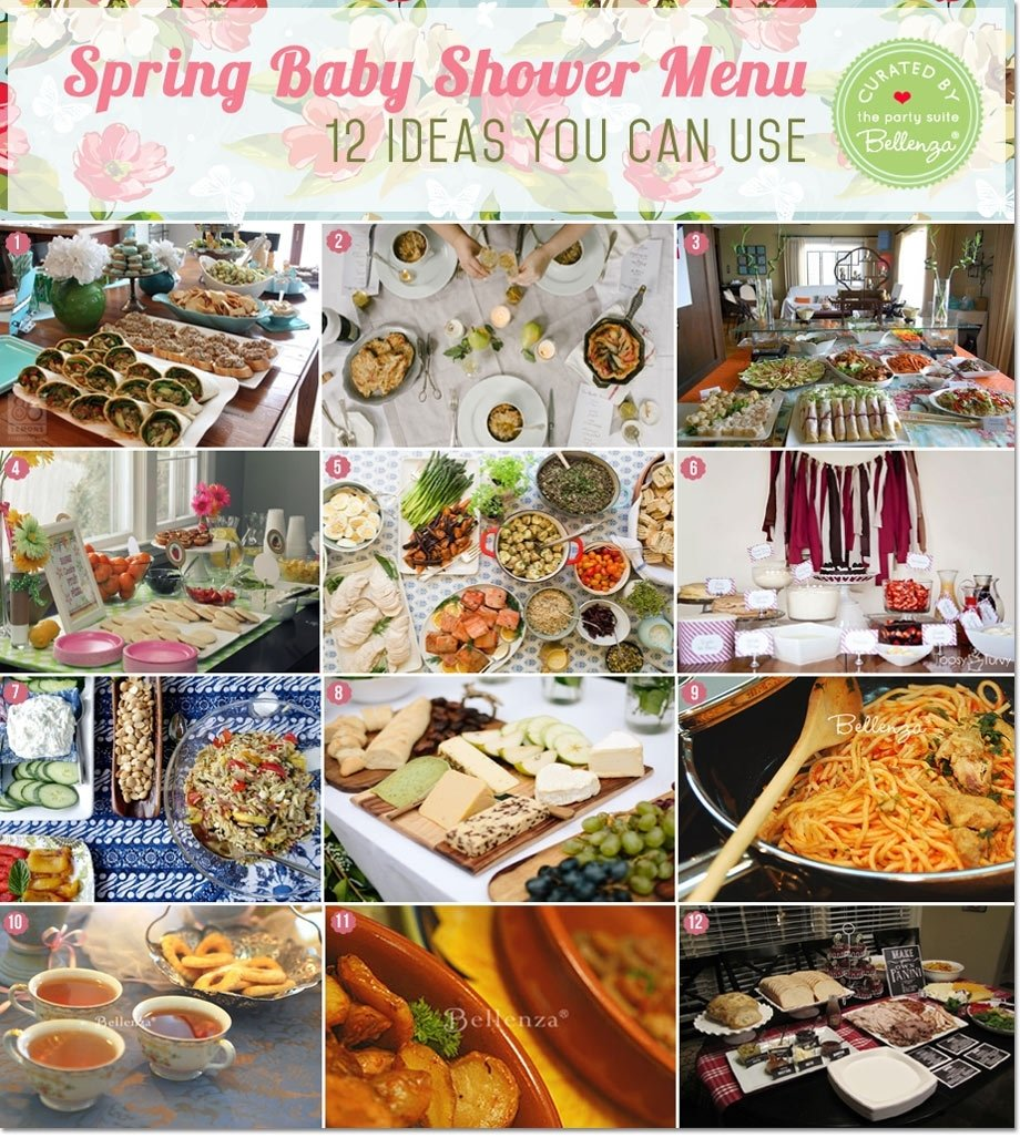 archaicawfulby shower brunch menu ideas recipe buffet baby for stock