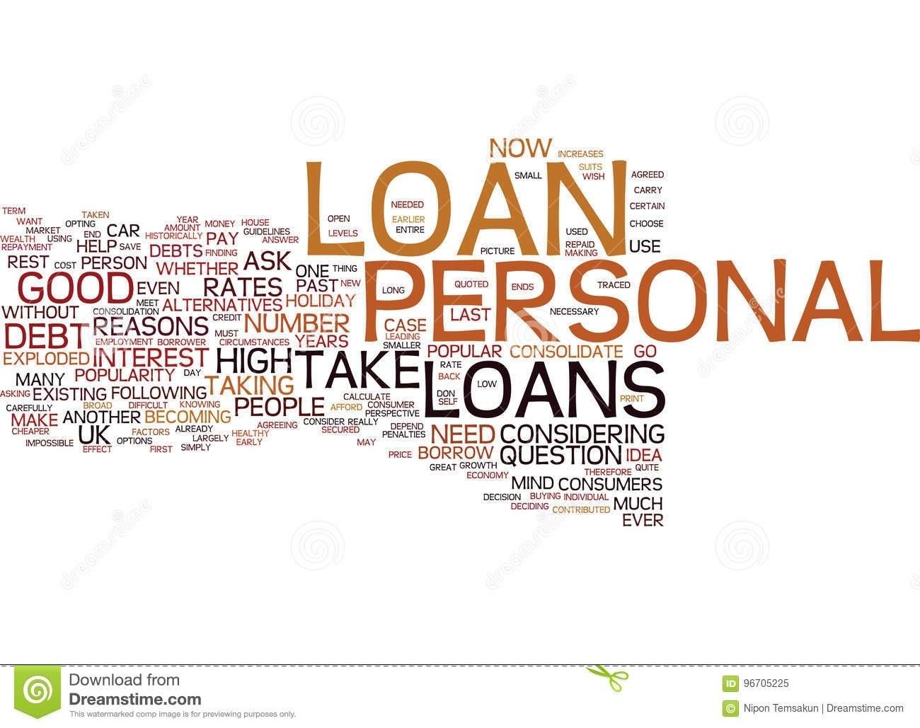 10 Best Another Word For Good Idea are personal loans a good idea for me word cloud concept stock 1 2020