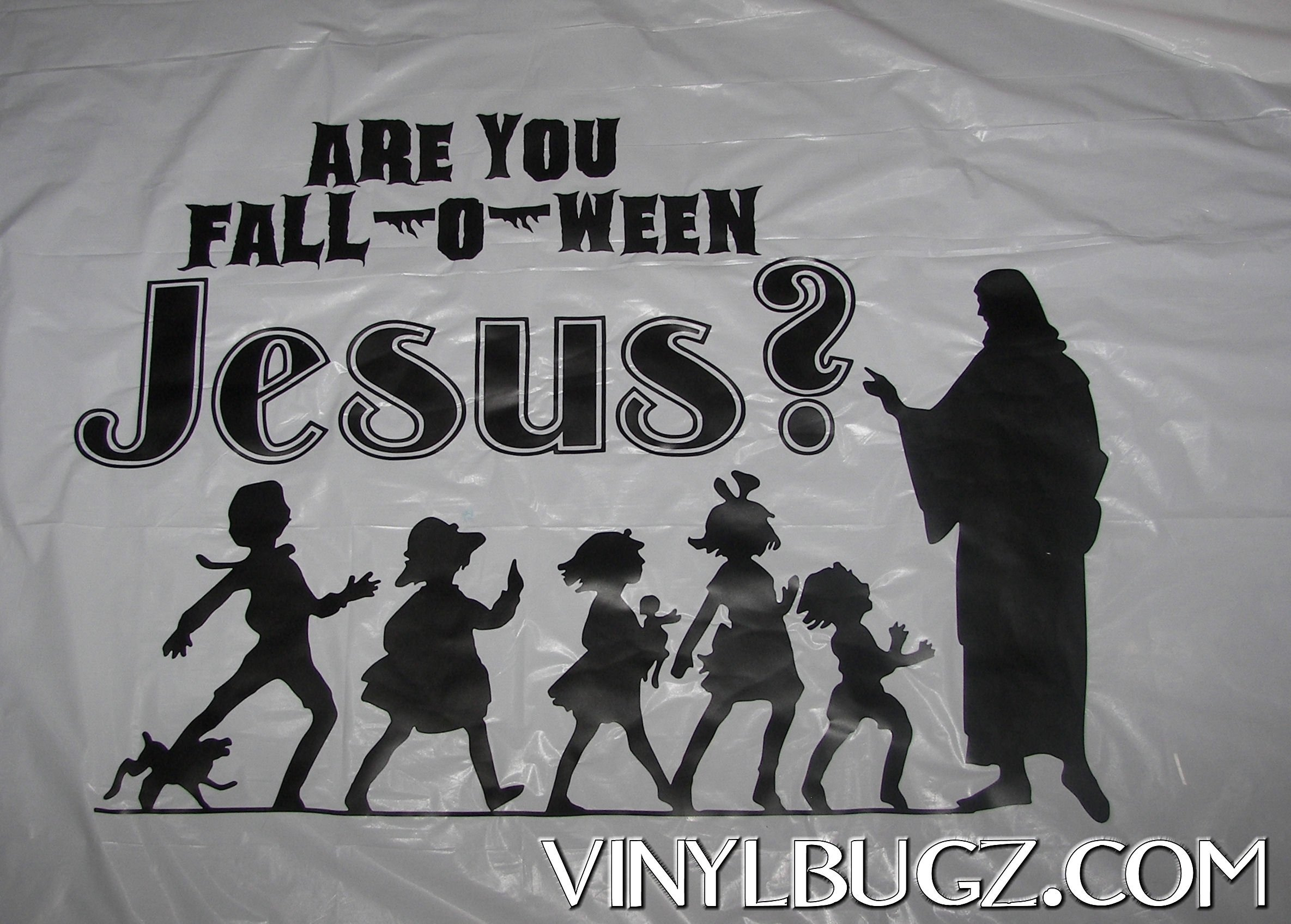 10 Unique Fall Festival Ideas For Church are you fall o ween jesus banner made for church trunk 0r treat