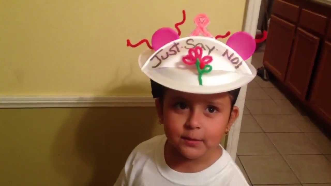 10 Fantastic Crazy Hat Ideas For Kids ariannas crazy hat day at school 2013 youtube