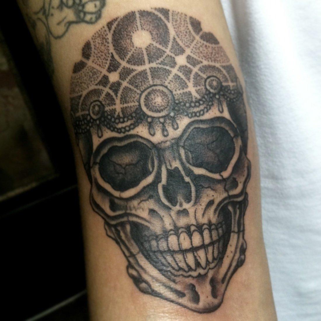 10 Spectacular Skull Tattoo Ideas For Men arm tattoos for men the arts 2021