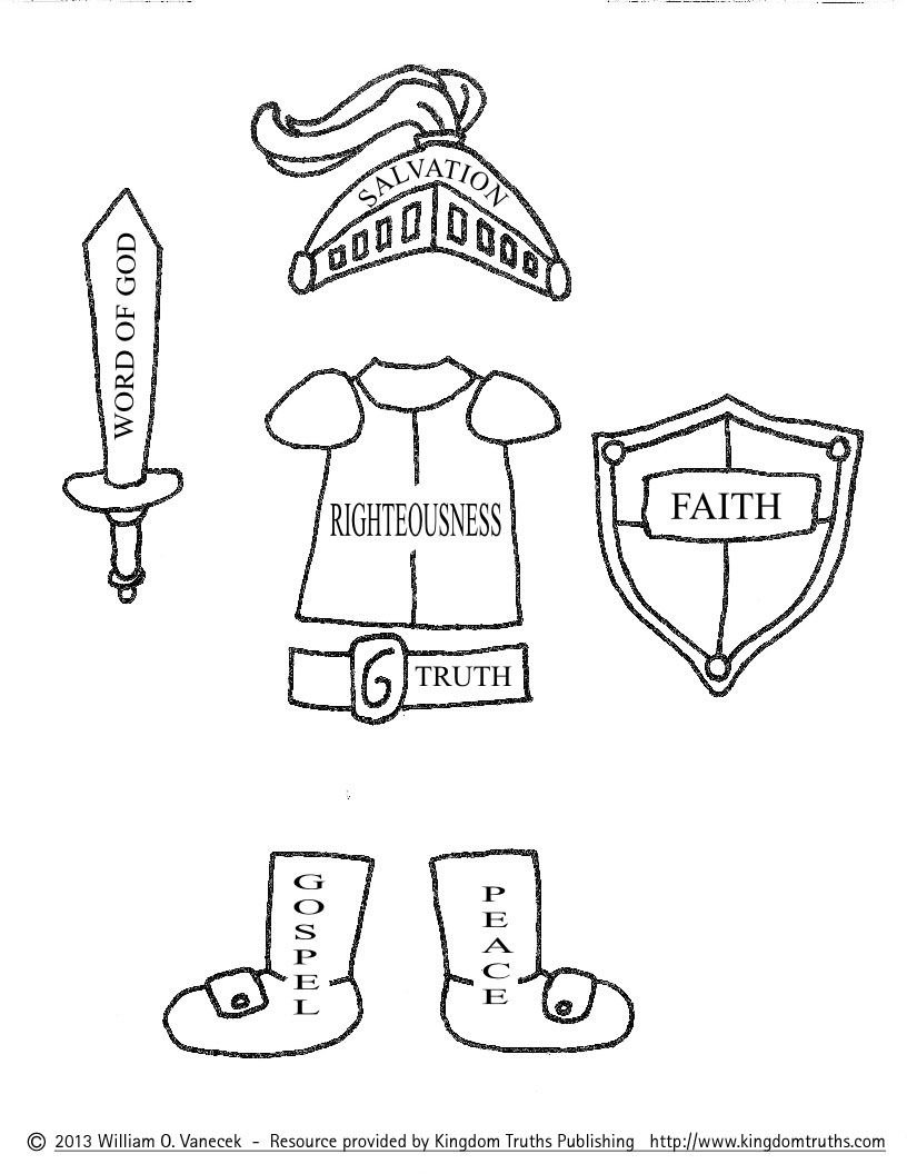 10 Stunning Armor Of God Craft Ideas armor of god coloring pages pictures imagixs http www 2020