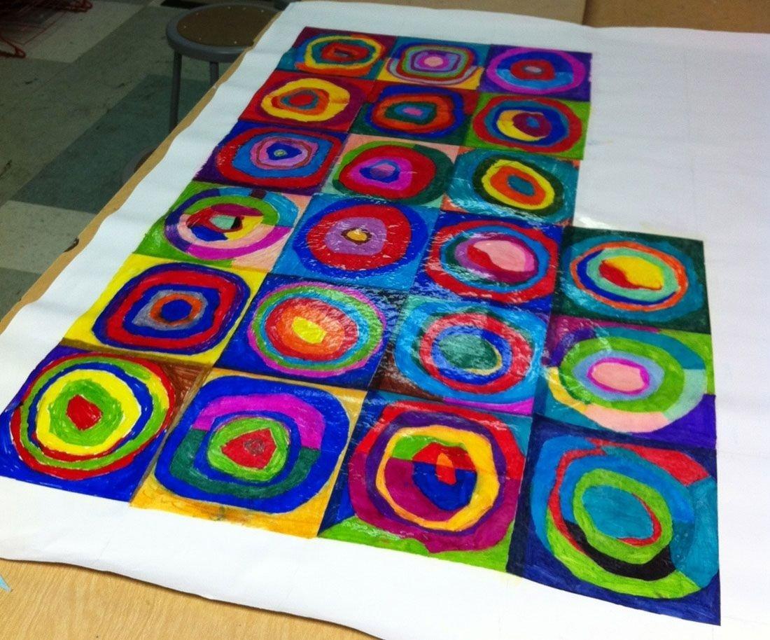 10 Attractive Art Project Ideas For Kids art projects for kids artist kandinsky art literacy pinterest 2021