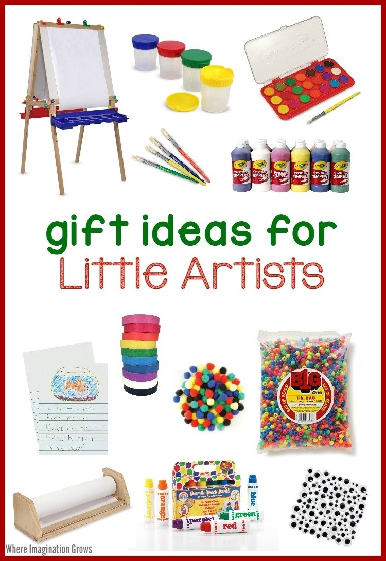 10 Beautiful Great Gift Ideas For Kids art supplies for kids gift ideas for little artists where