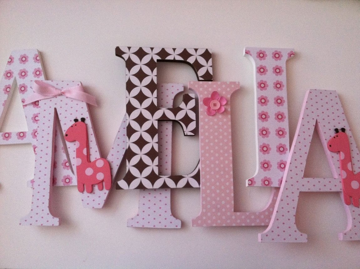 10 Fashionable Ideas For Decorating Wooden Letters articles with ideas for decorating wooden letters for nursery tag 2020
