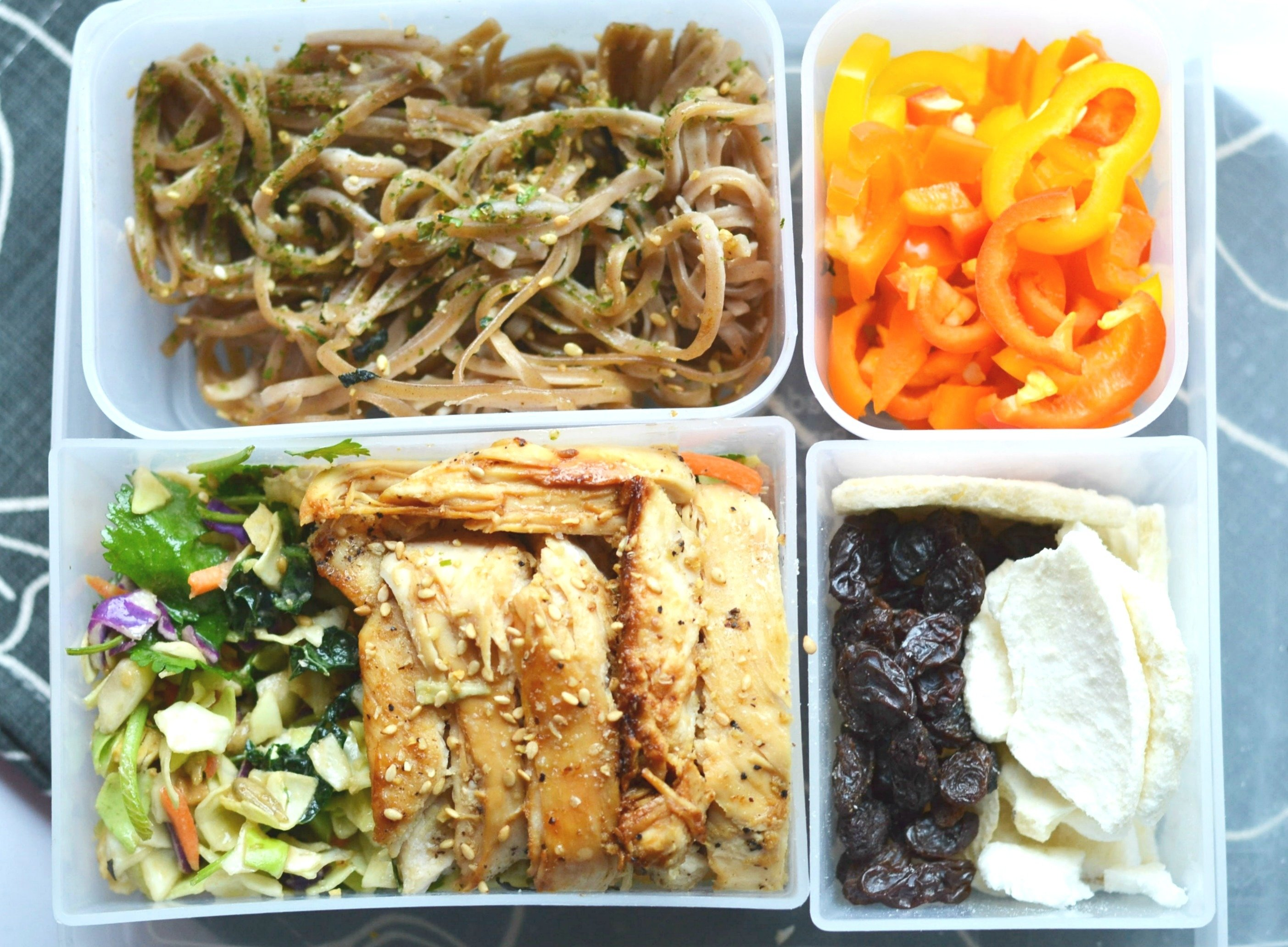 10 Most Popular Bento Lunch Ideas For Adults asian chicken cabbage salad bento box opera singer in the kitchen 2020