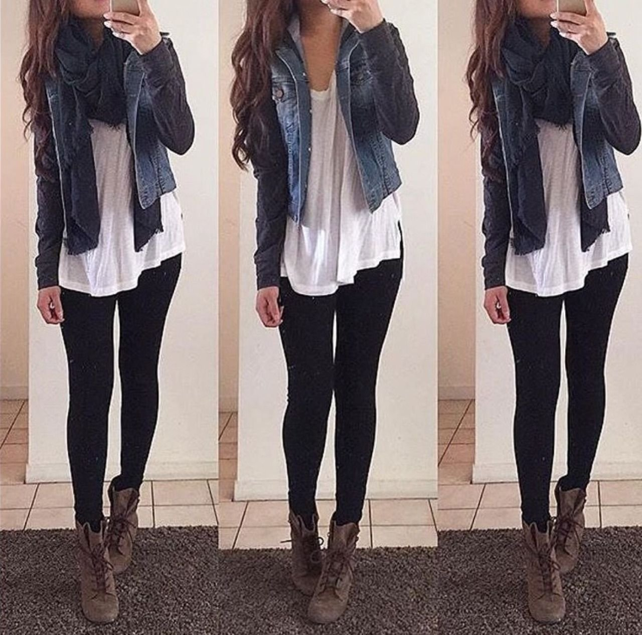 astonishing cute winter outfits : cute outfits with black leggings
