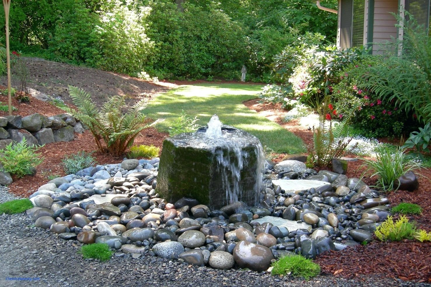 10 Perfect Water Feature Ideas For Small Gardens astonishing garden feature ideas small backyard water pics of for 2020