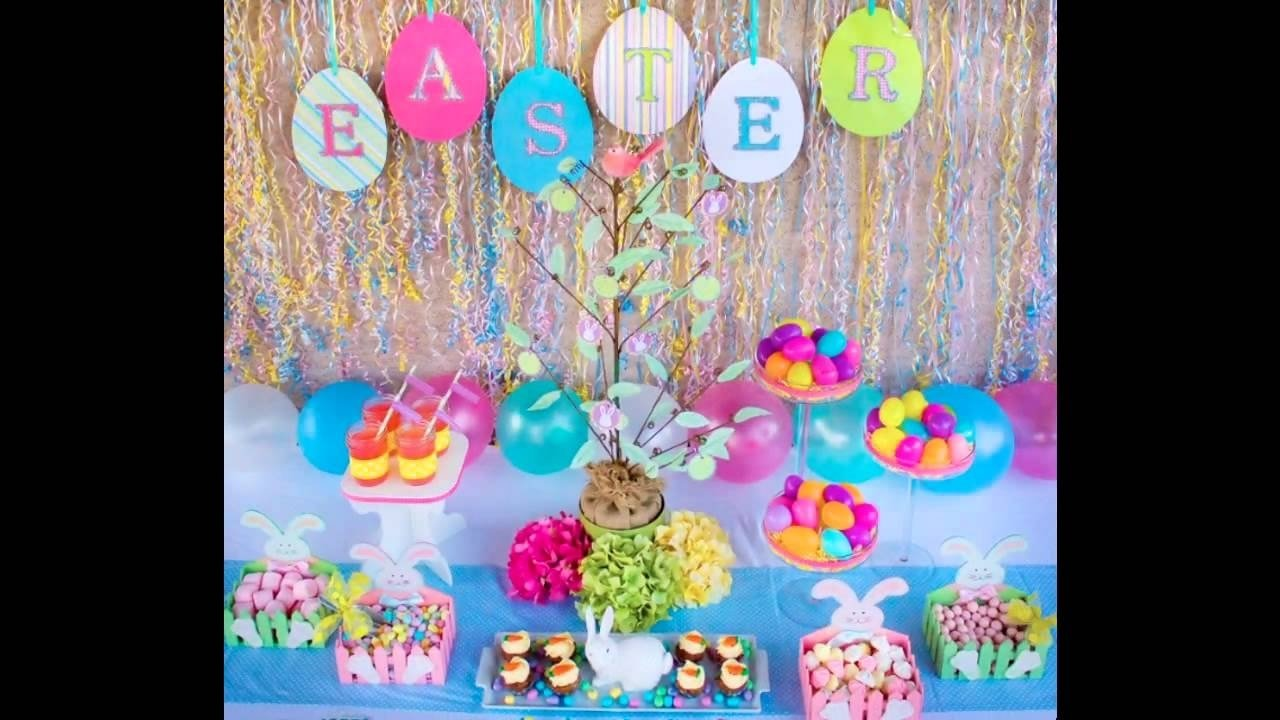 10 Spectacular Easter Party Ideas For Kids at home easter party ideas for kids youtube 2020