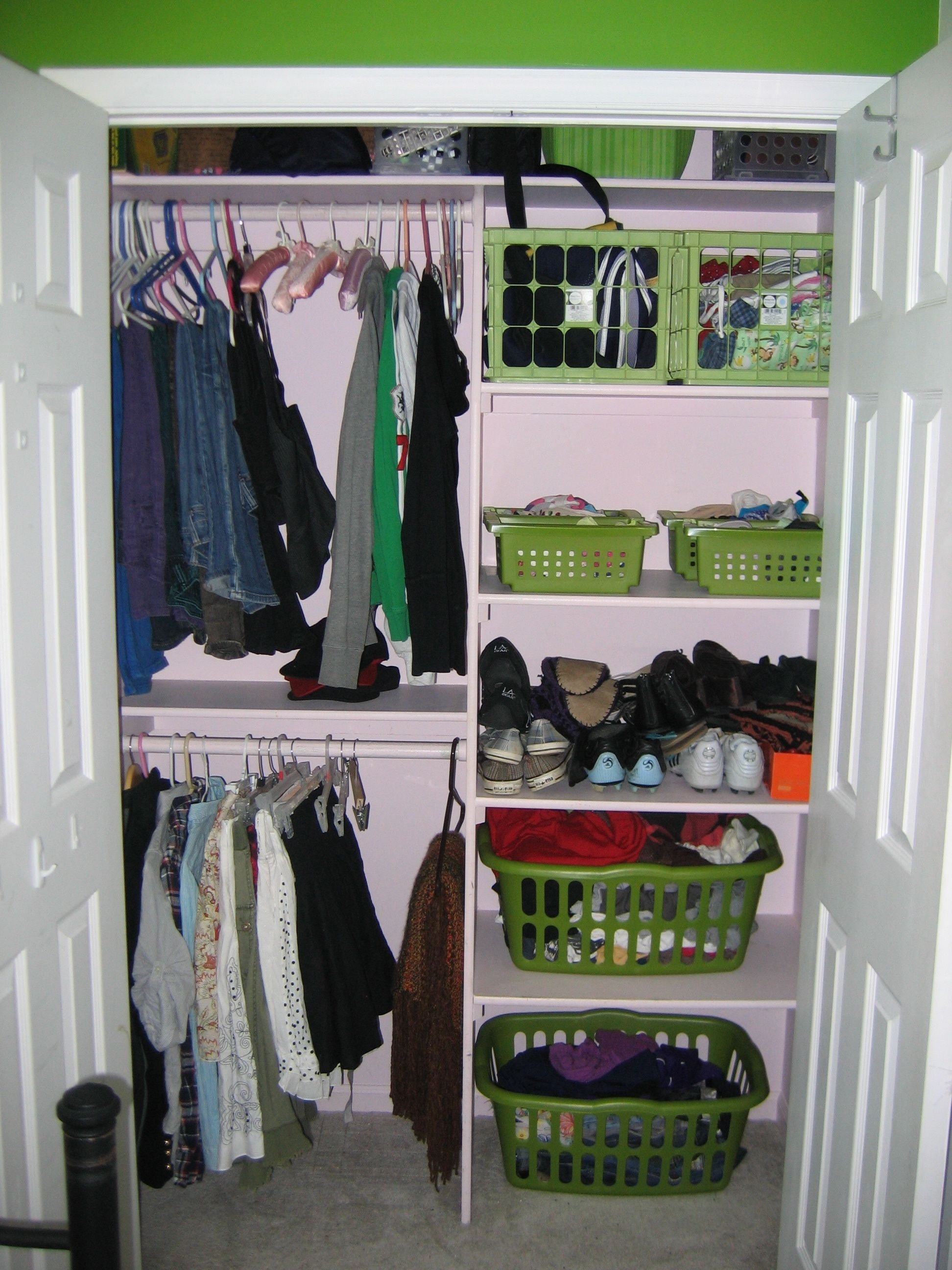 attractive closet organizers for small closets | fresh apartments
