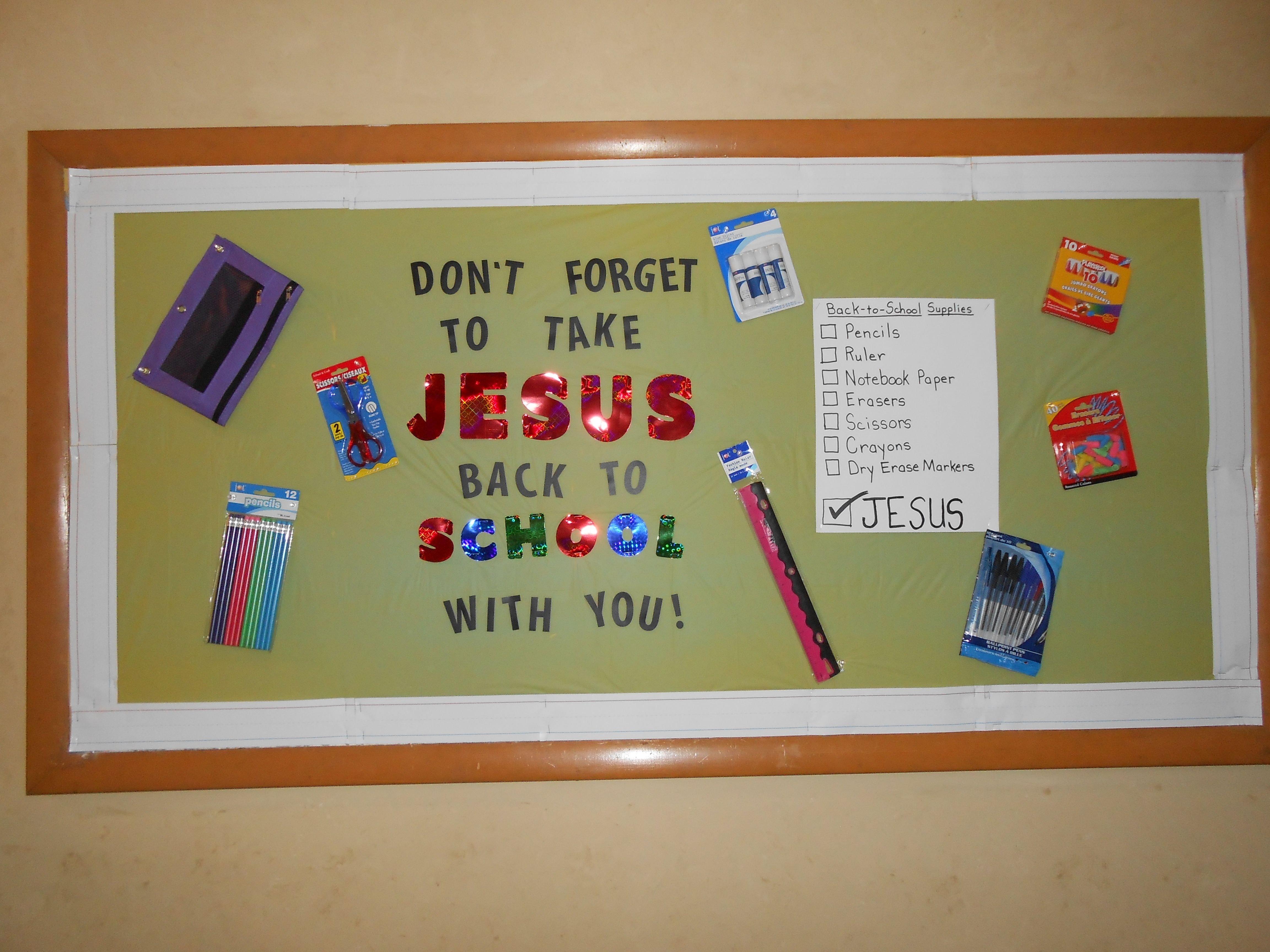 10 Fabulous Bulletin Board Ideas For September august september church bulletin board my bulletin boards 2021