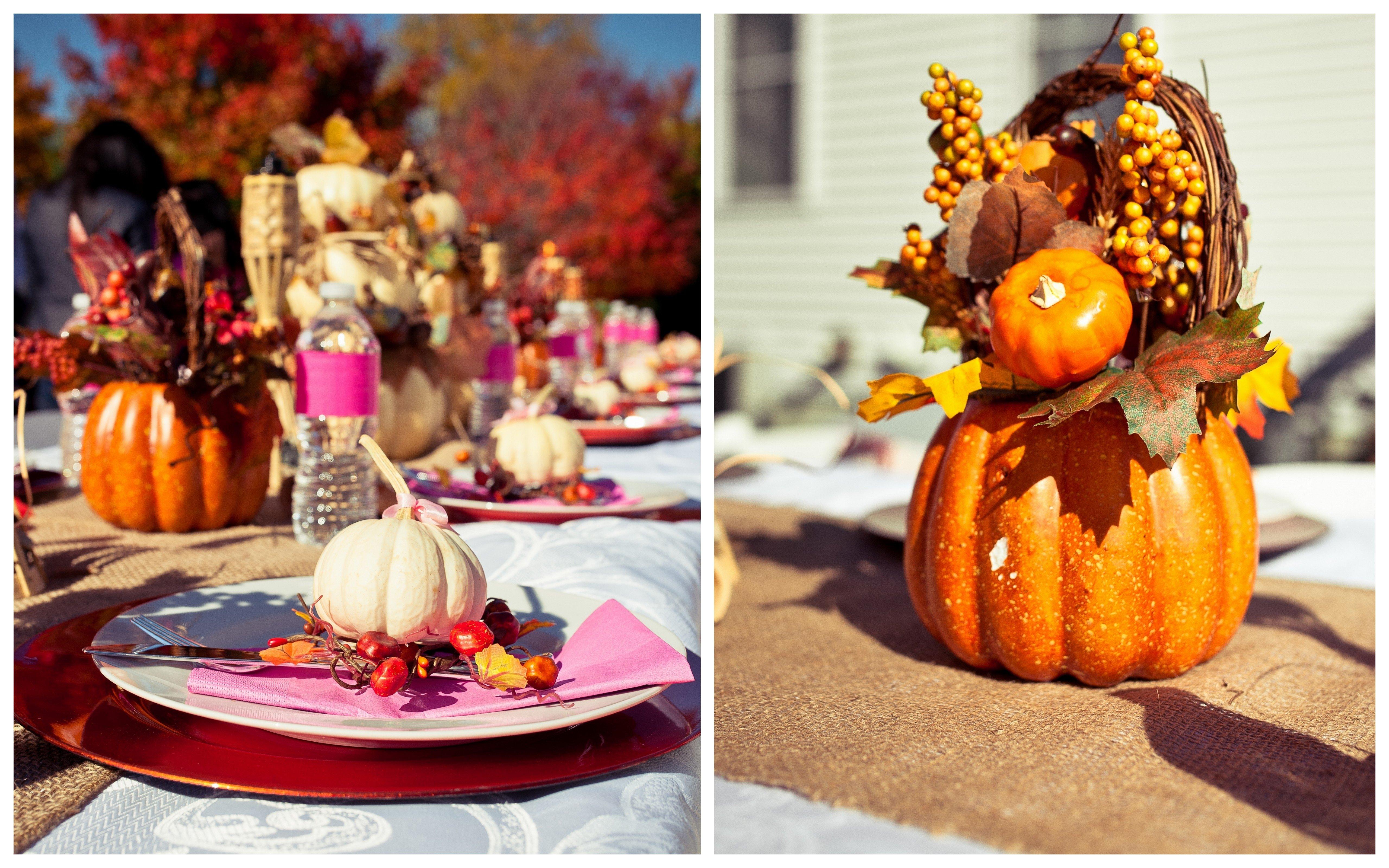10 Gorgeous Fall Themed Baby Shower Ideas autumn little pumpkin baby shower tutus toads 2020