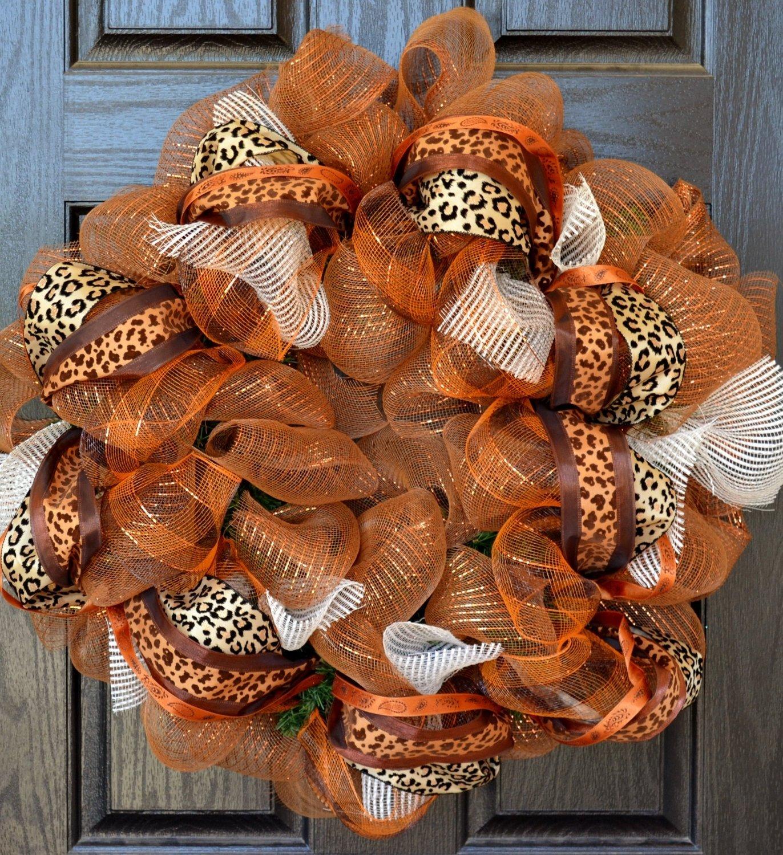 10 Fantastic Fall Wreath Ideas With Deco Mesh autumn wreaths how to make fall wreath ideas for deco mesh door yarn 1