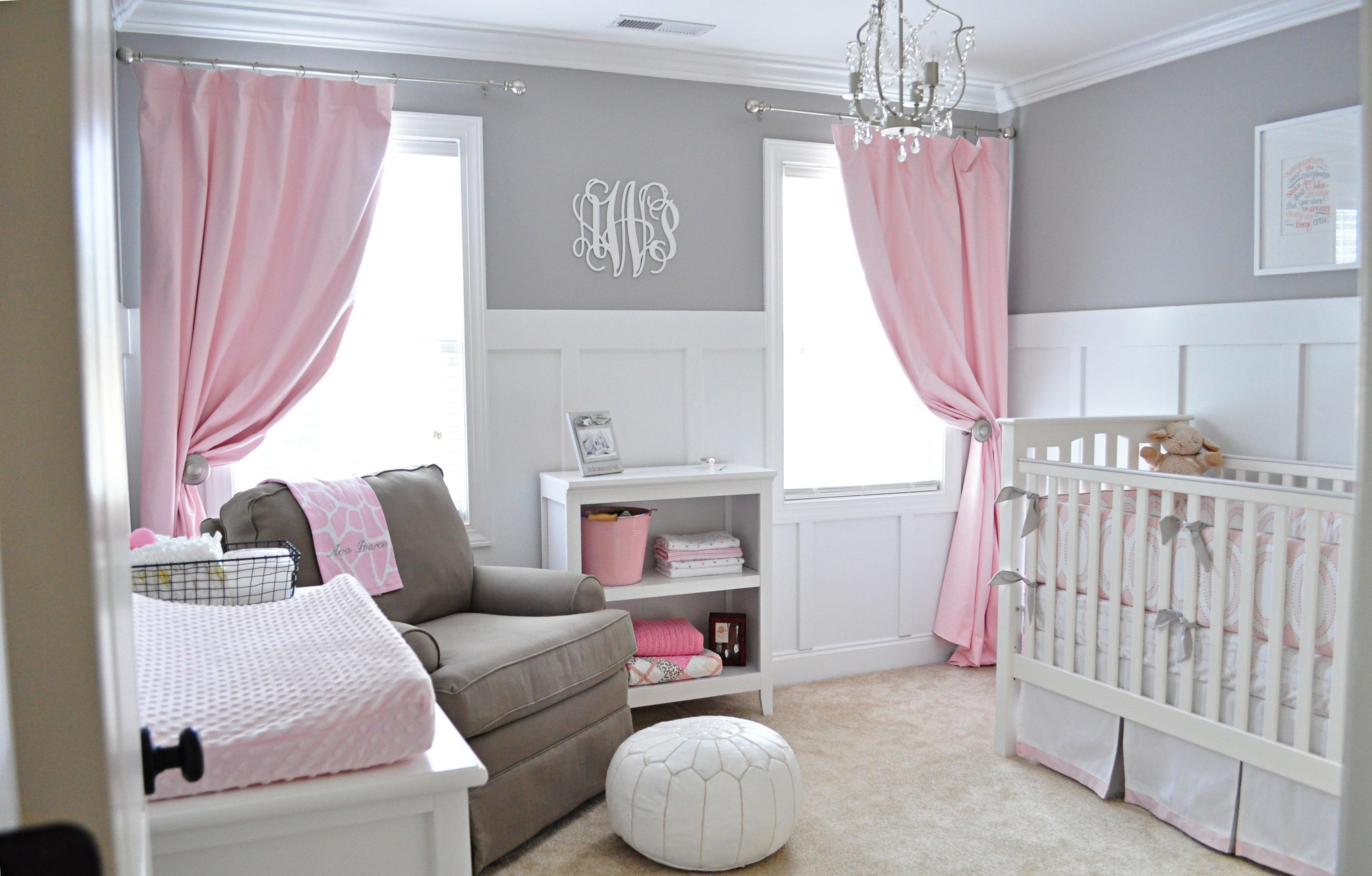 10 Ideal Pink And Grey Nursery Ideas avas sweet gray and pink nursery project idolza 2021