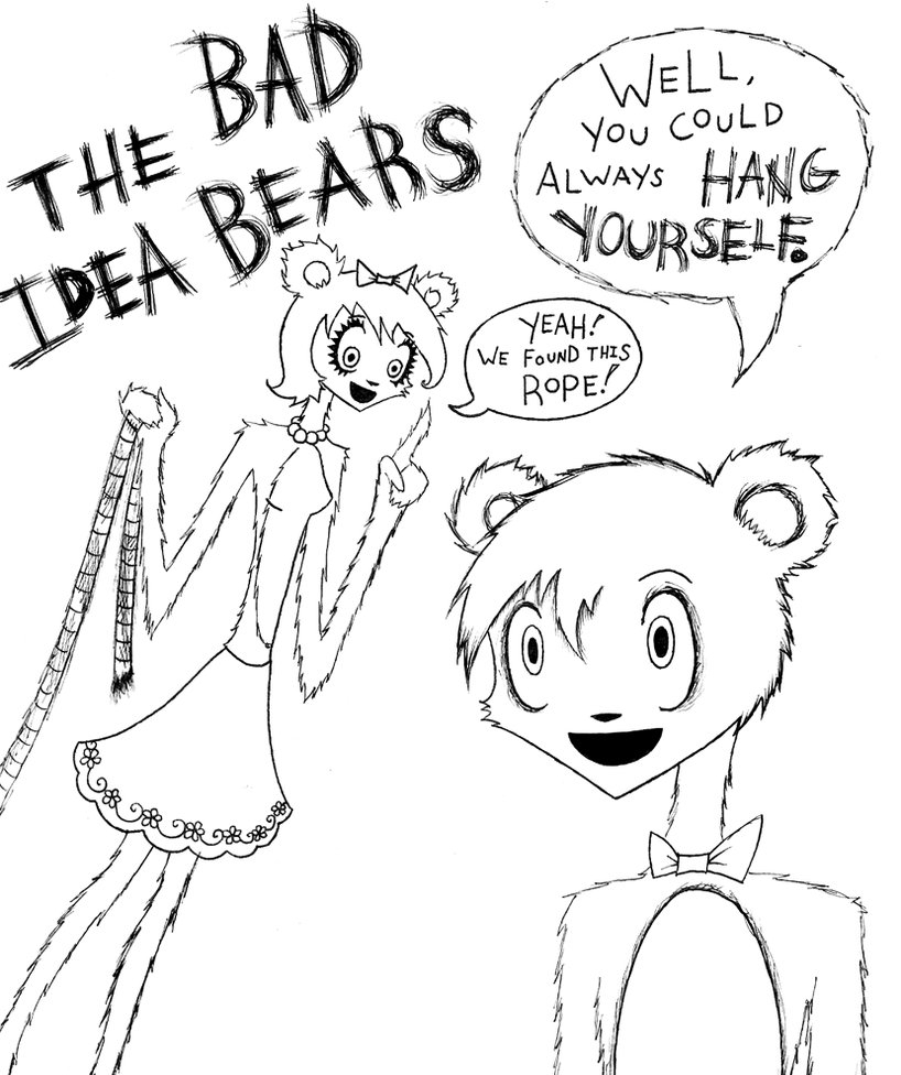 10 Most Recommended Bad Idea Bears Avenue Q avenue q the bad idea bearsnitrusoxide on deviantart 1