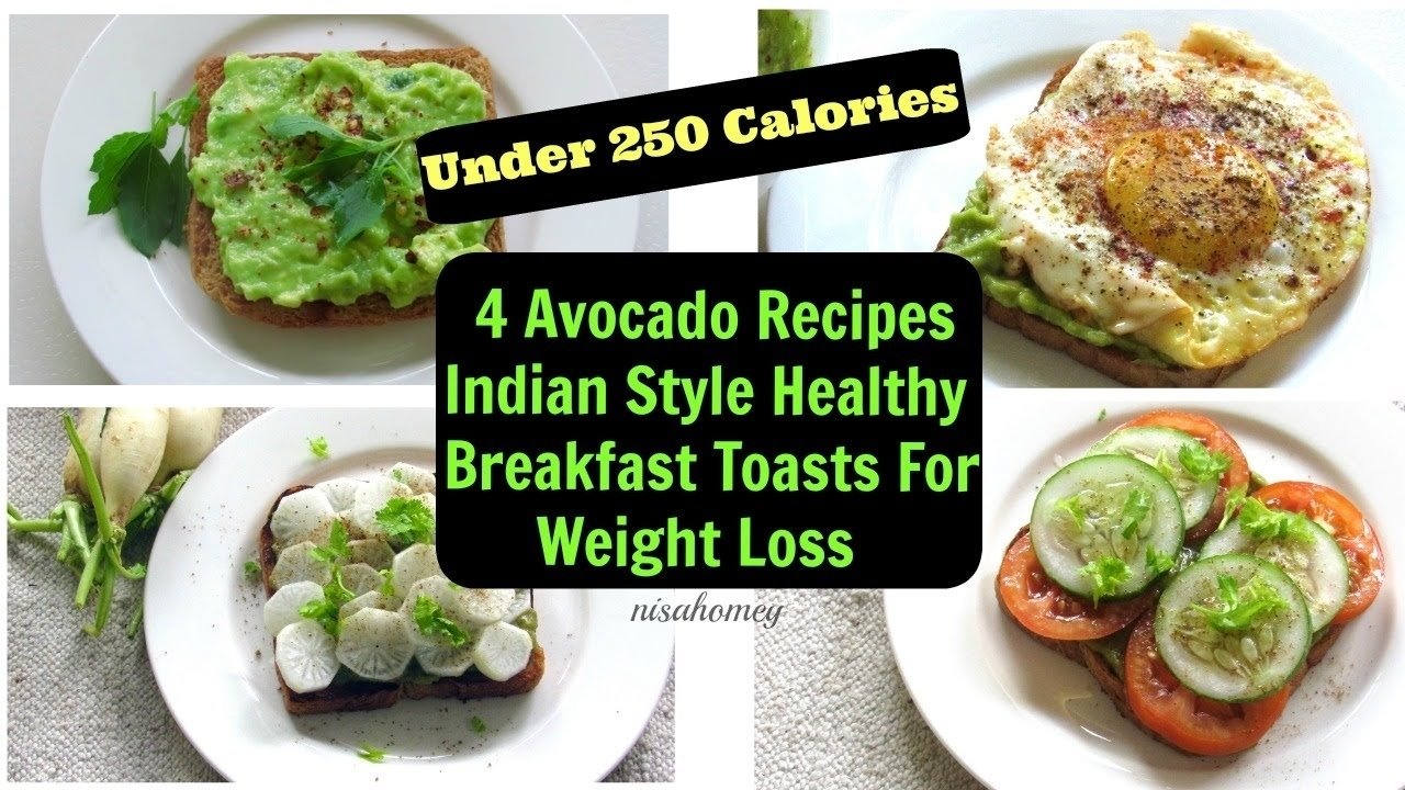 10 Stunning Healthy Breakfast Ideas For Weight Loss avocado breakfast toast 4 healthy fat burning breakfast ideas for 1 2021
