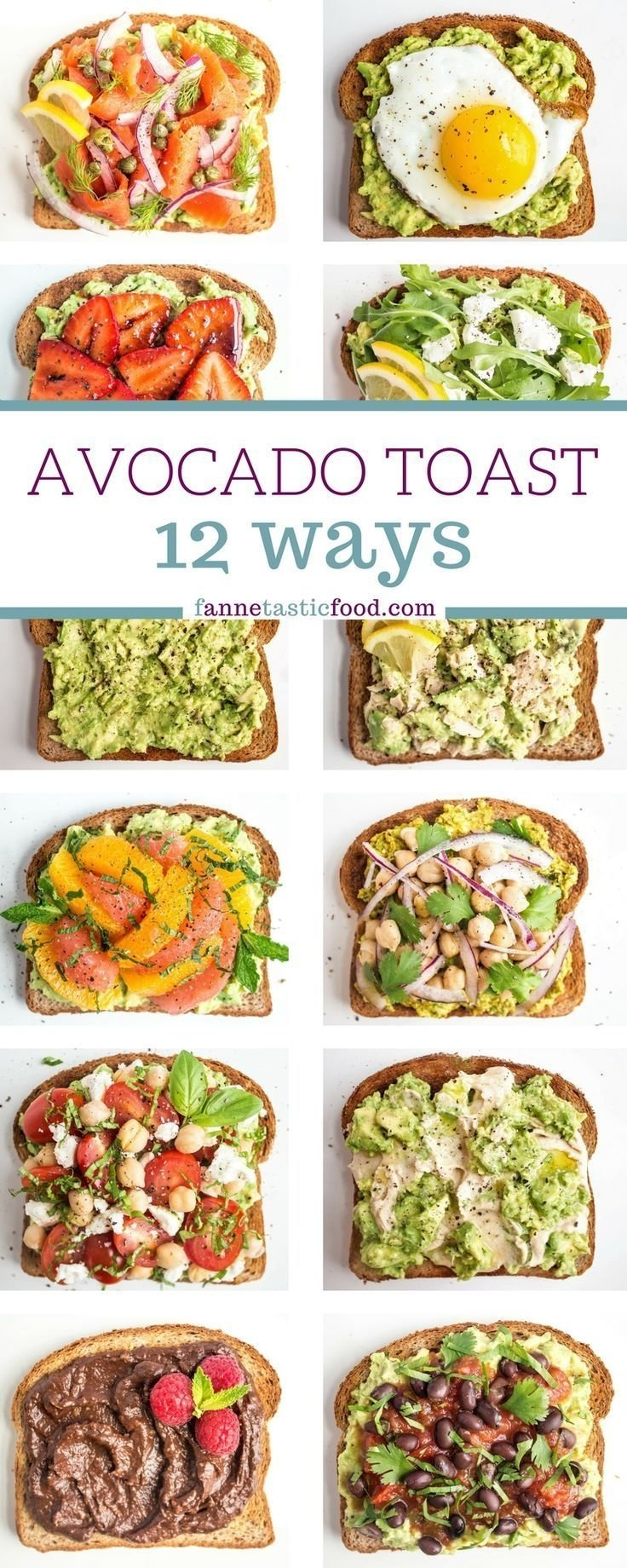 10 Attractive Healthy Breakfast And Lunch Ideas avocado toast recipes 2020