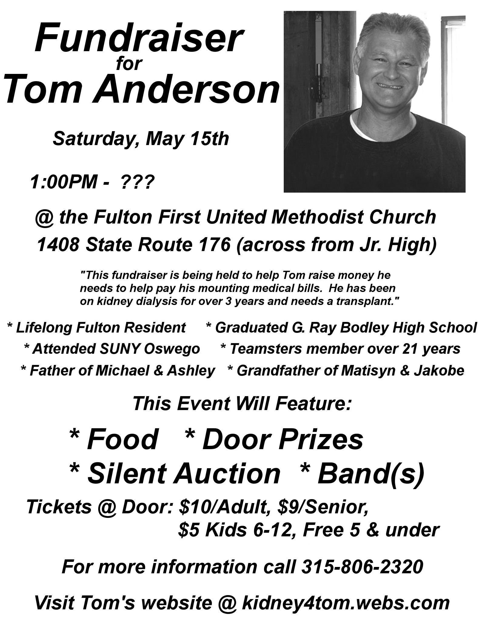10 Attractive Fundraising Ideas For Medical Expenses awareness day medical expense fundraiser for tom anderson oswego 2020