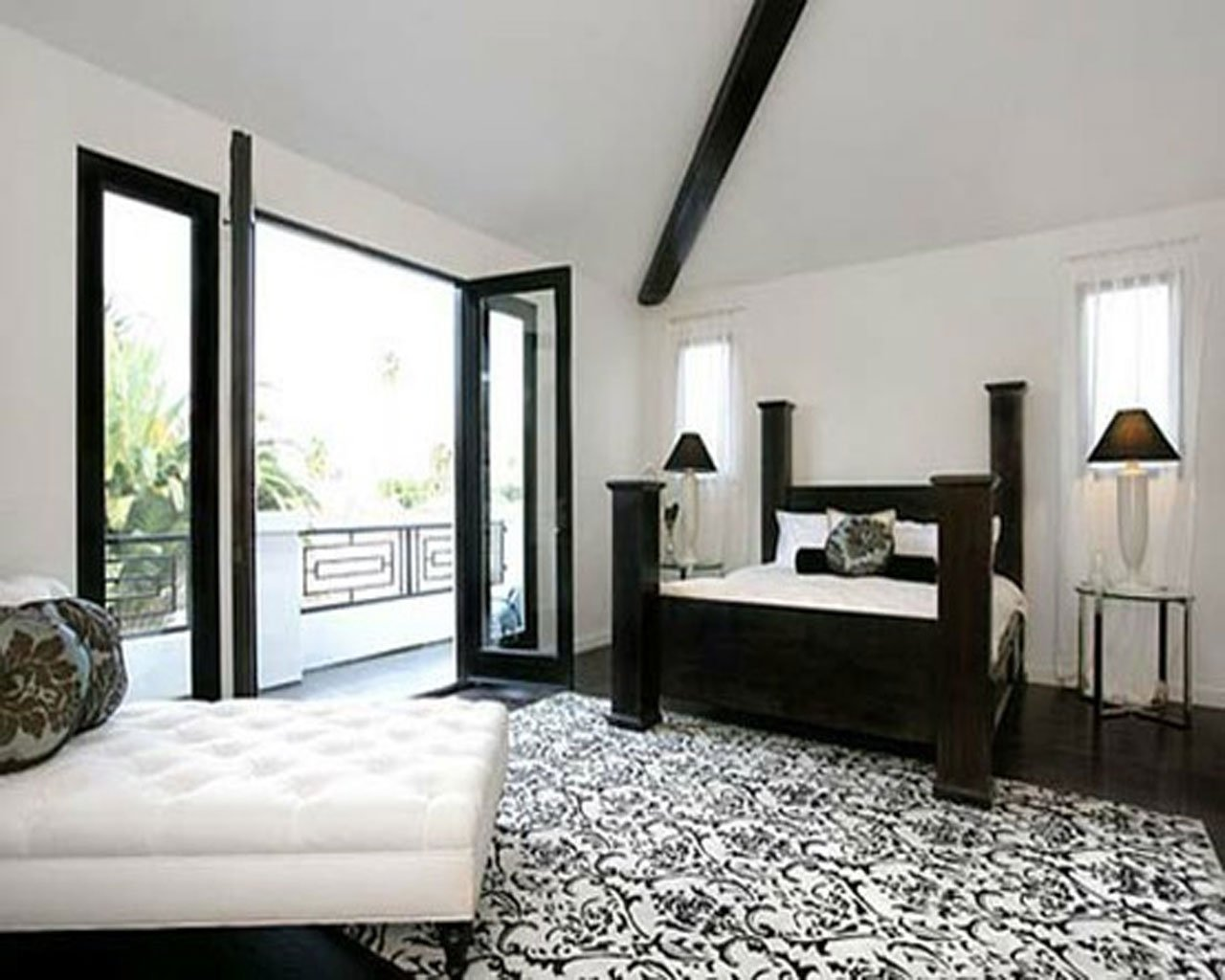 10 Awesome Black And White Room Ideas awesome black and white bedroom monochrome black white bedroom