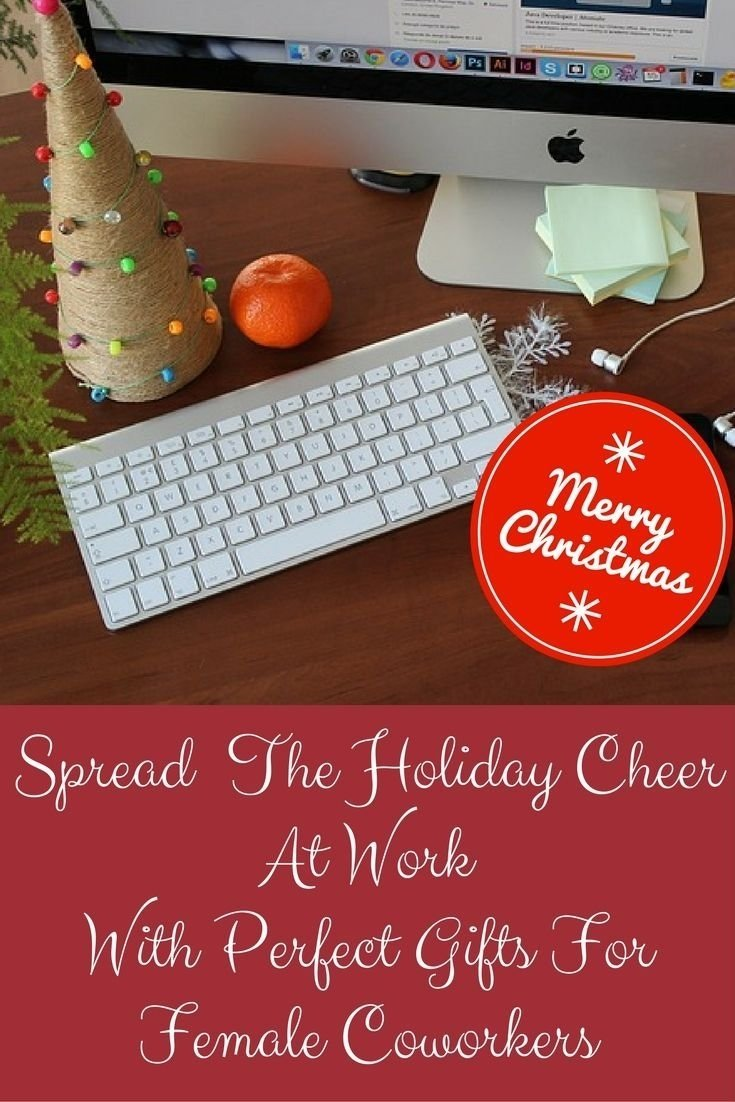 awesome christmas gift ideas female coworkers would love | christmas