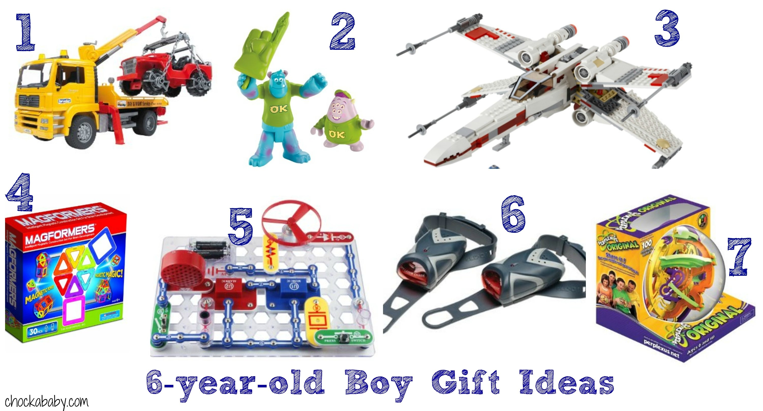 10 Ideal Birthday Gift Ideas For 6 Year Old Boy Awesome Design