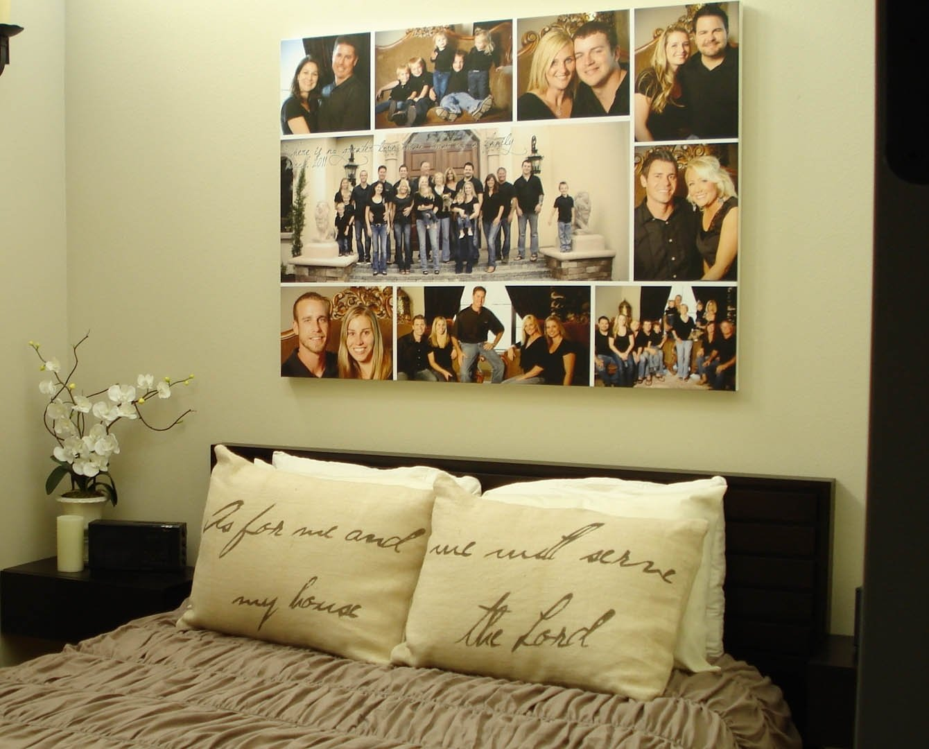 10 Cute Family Photo Wall Collage Ideas