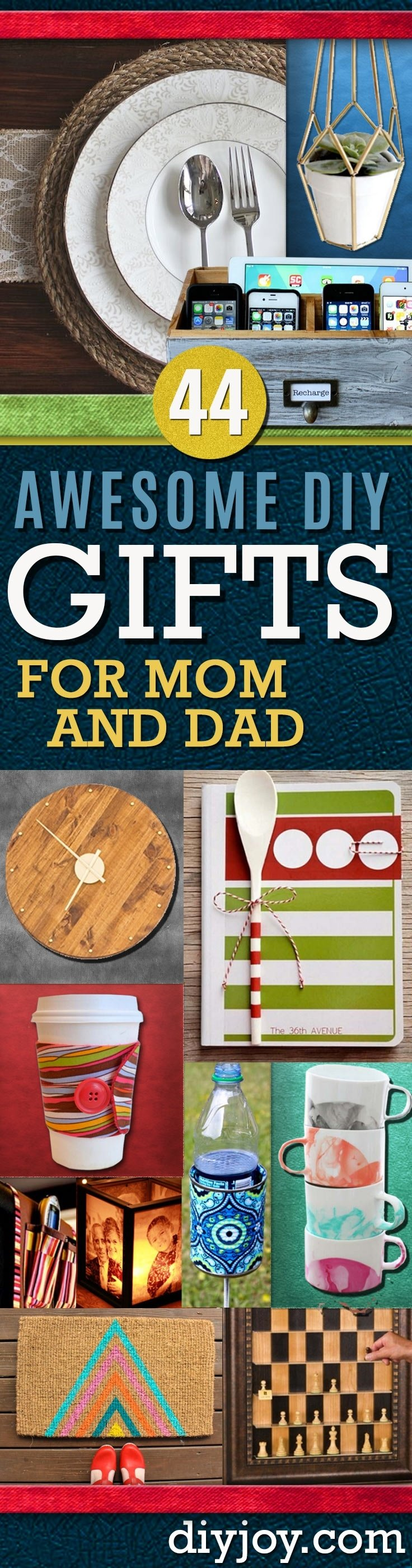 10 Elegant Homemade Gift Ideas For Dad awesome diy gift ideas mom and dad will love 19 2021