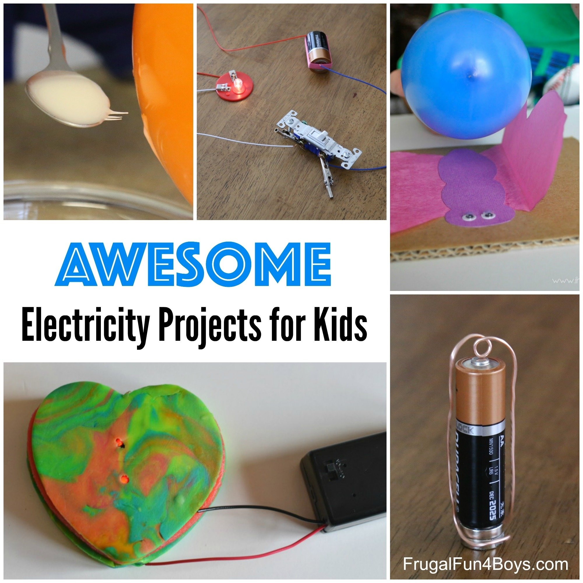 10 Pretty Ideas For Science Projects For Kids awesome electricity projects for kids 2 2021