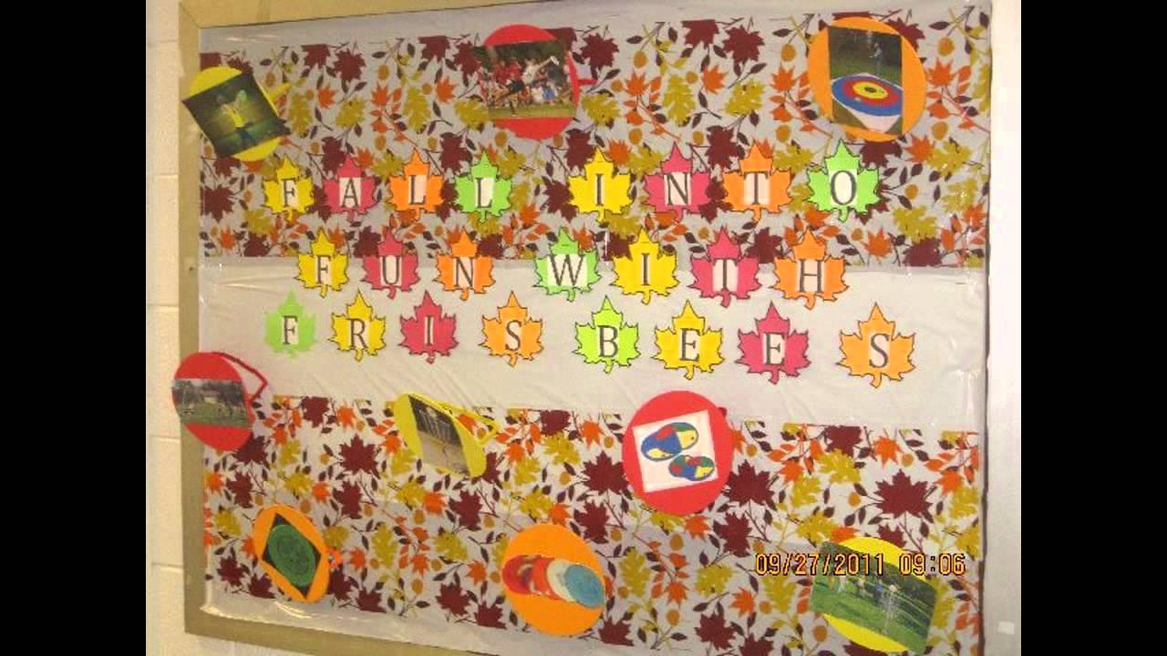 10 Lovable Fall Preschool Bulletin Board Ideas awesome fall bulletin board ideas for preschool youtube 6