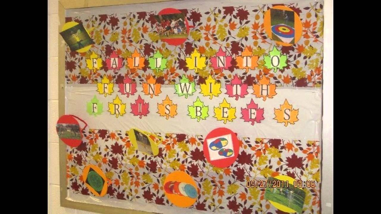 awesome fall bulletin board ideas for preschool - youtube