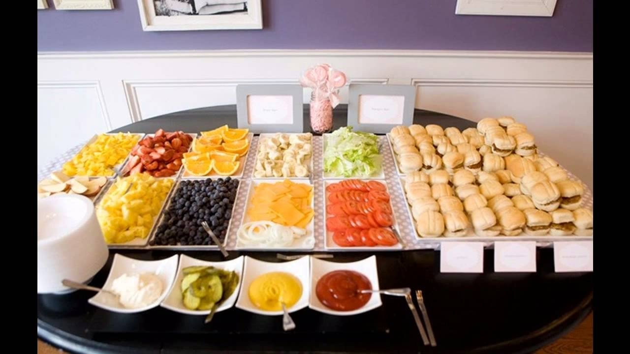 awesome graduation party food ideas - youtube