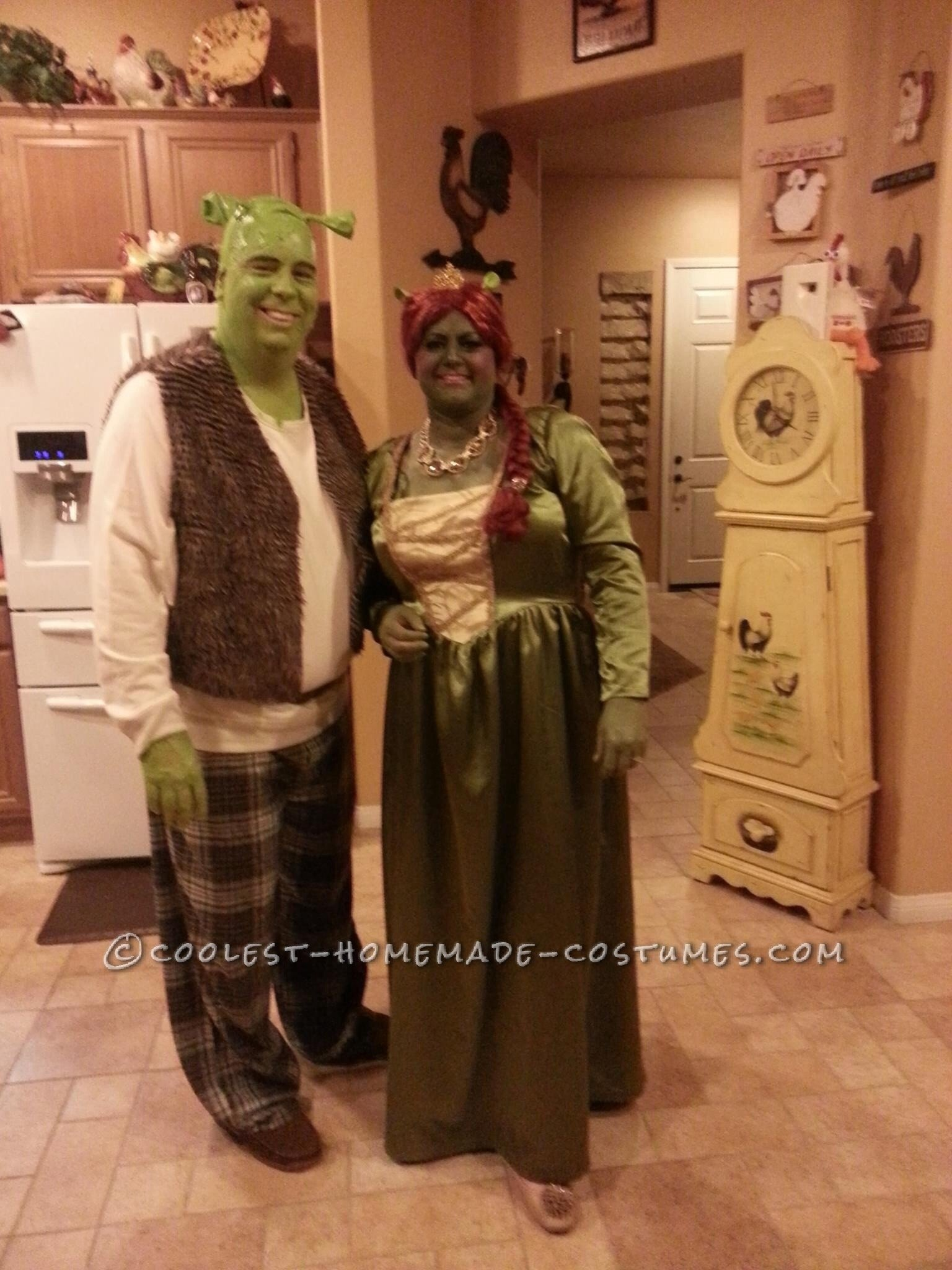 10 Pretty Homemade Plus Size Costume Ideas awesome homemade plus size fiona and shrek costume 2020