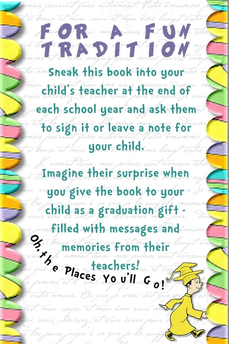 awesome idea with dr. suess' oh the places you'll go! take into your