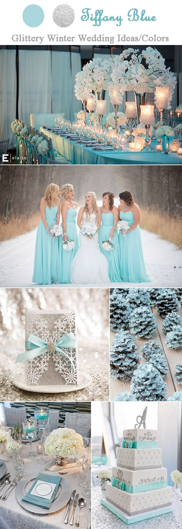 10 Attractive Tiffany Blue Wedding Theme Ideas awesome ideas for your tiffany blue themed wedding 2020