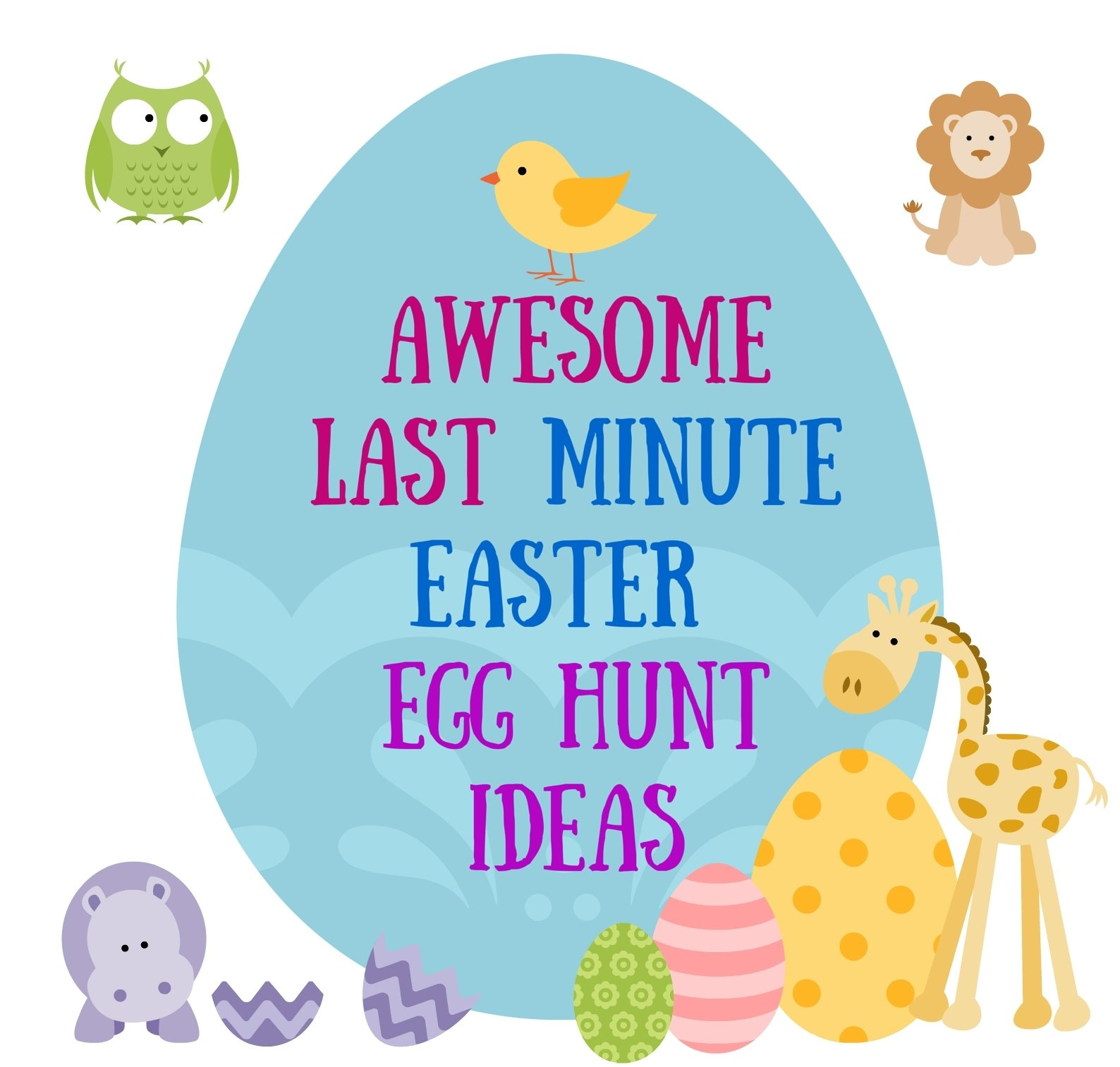 10 Pretty Ideas For Easter Egg Hunt awesome last minute easter egg hunt ideas ask latisha 1 2021